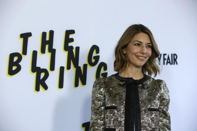 Sofia Coppola at the premiere of The Bling Ring, her latest film.