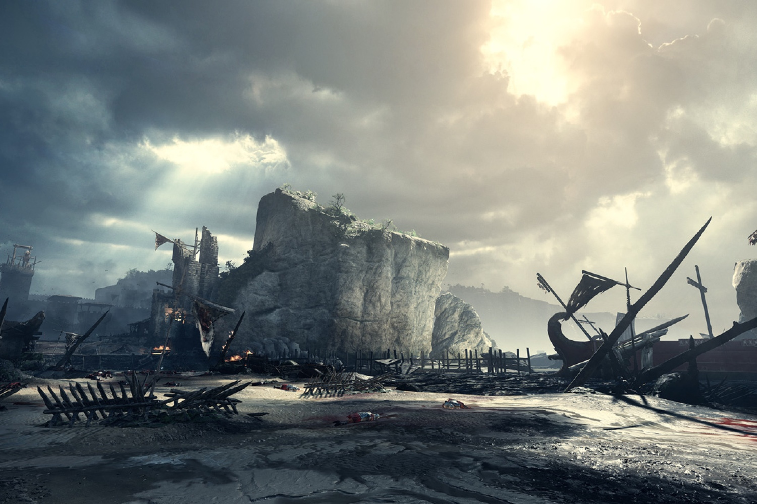 Ryse: Son of Rome for Xbox One, powered by CryEngine.