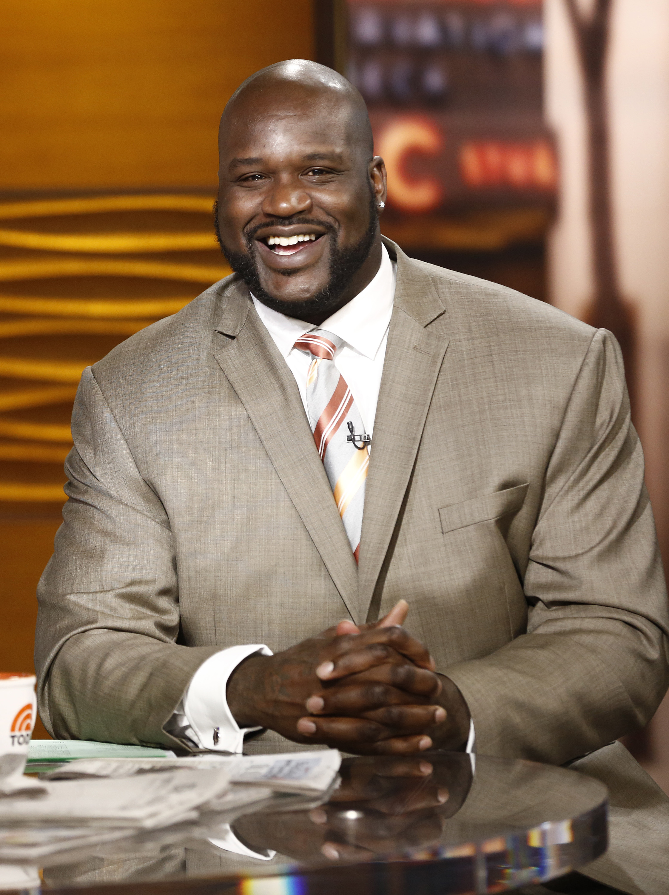 Shaquille O'Neal appears on NBC News'  Today  show, Feb. 26, 2014.