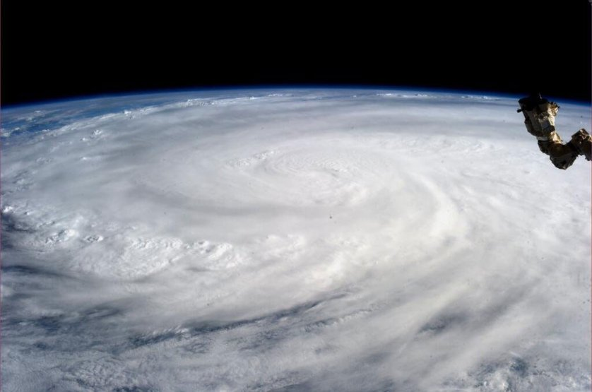 This image, taken by astronaut Karen L. Nyberg aboard the International Space Station, shows Super Typhoon Haiyan on Nov. 9, 2013. The storm looks fearsome enough from space; on the ground, it was devastating.