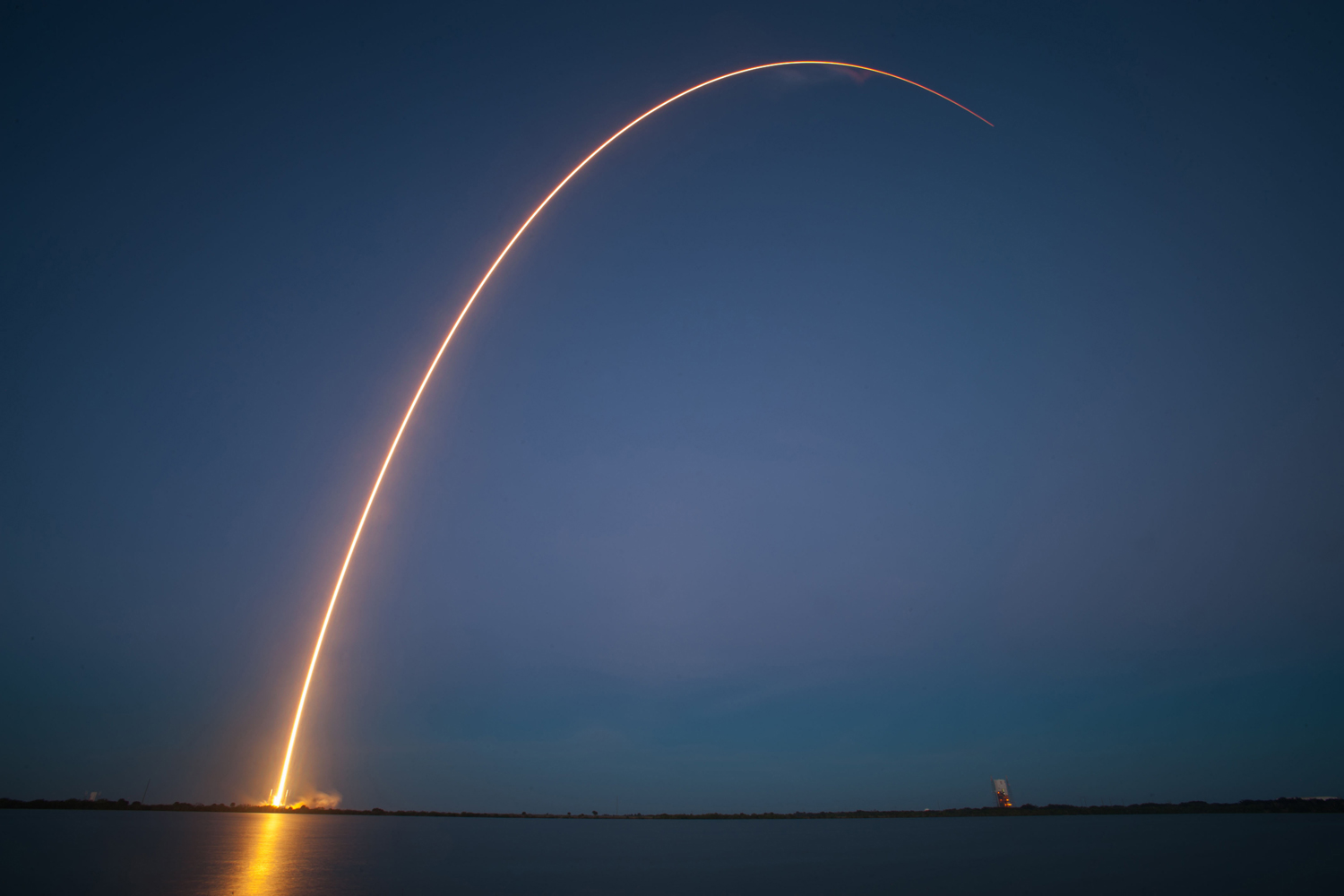 SpaceX's Falcon 9 launches from Cape Canaveral, on Nov. 28, 2013.