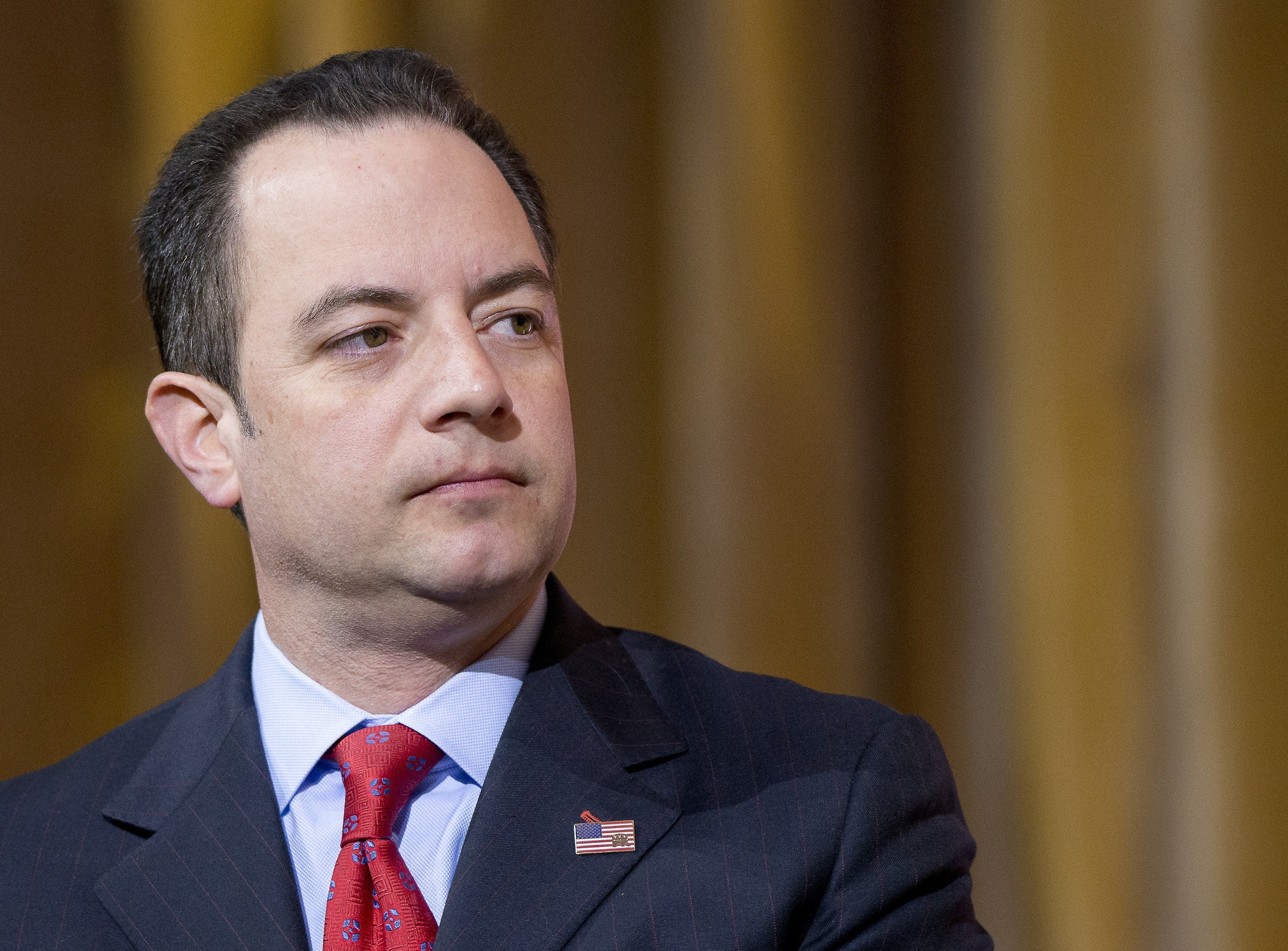 Reince Priebus, Chairman of the Republican National Committee, participates on a panel at the Conservative Political Action Conference at the Gaylord National at National Harbor, Md., March 8, 2014.