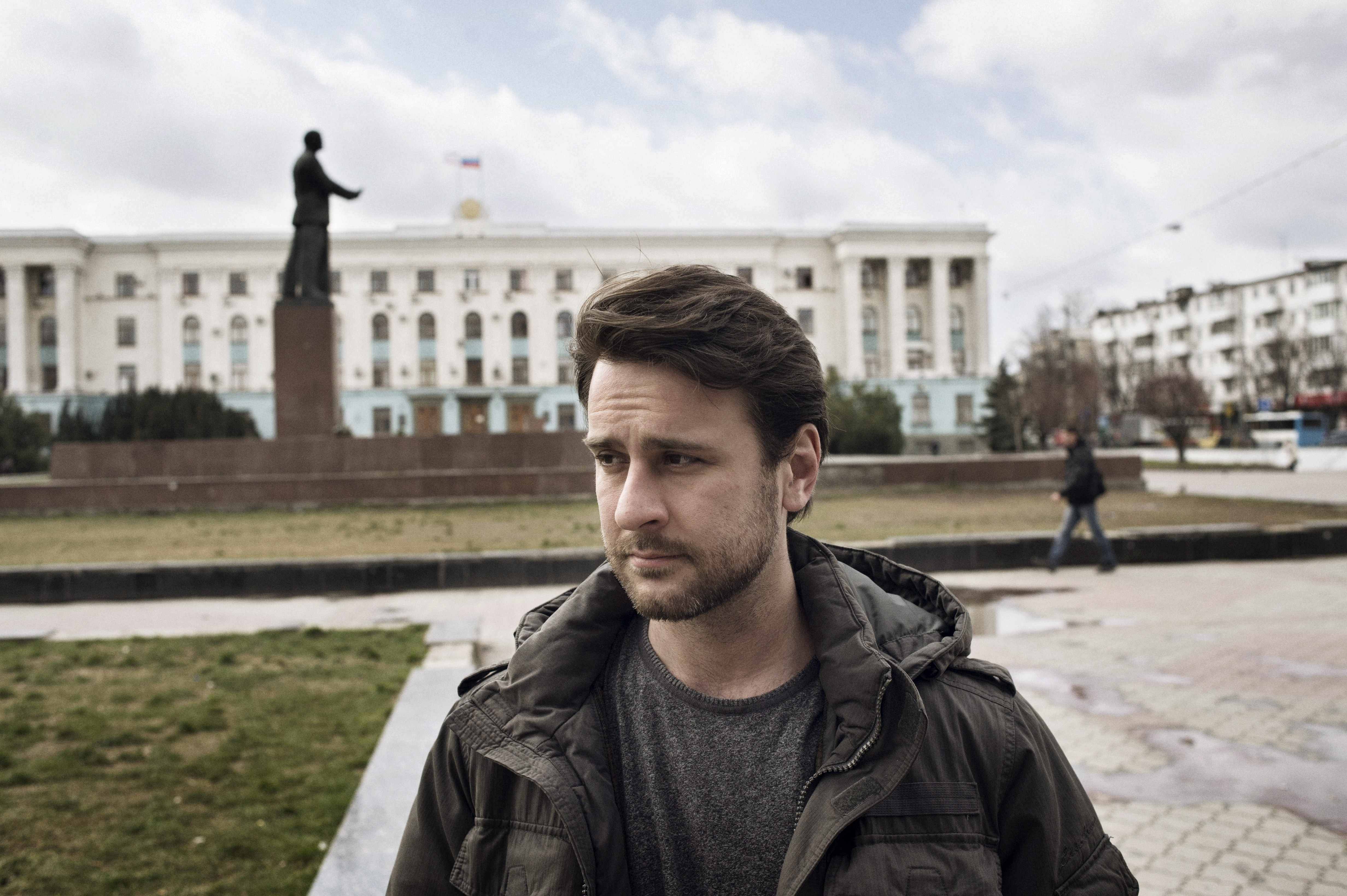 Simon Shuster in Simferopol on March 18, 2014.