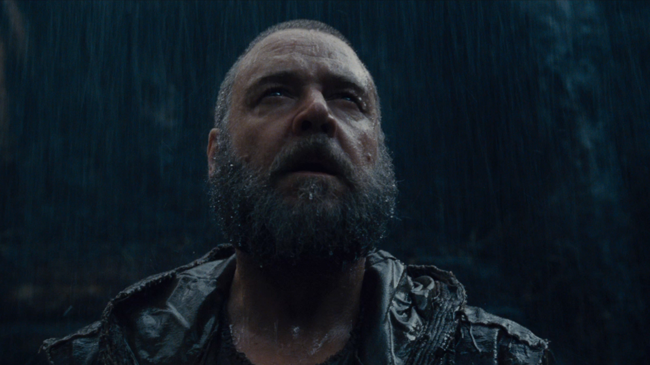 Russell stars as the Bible's Noah, suffering from survivor's guilt.