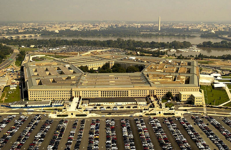 The Pentagon, headquarters of the Department of Defense since 1943.