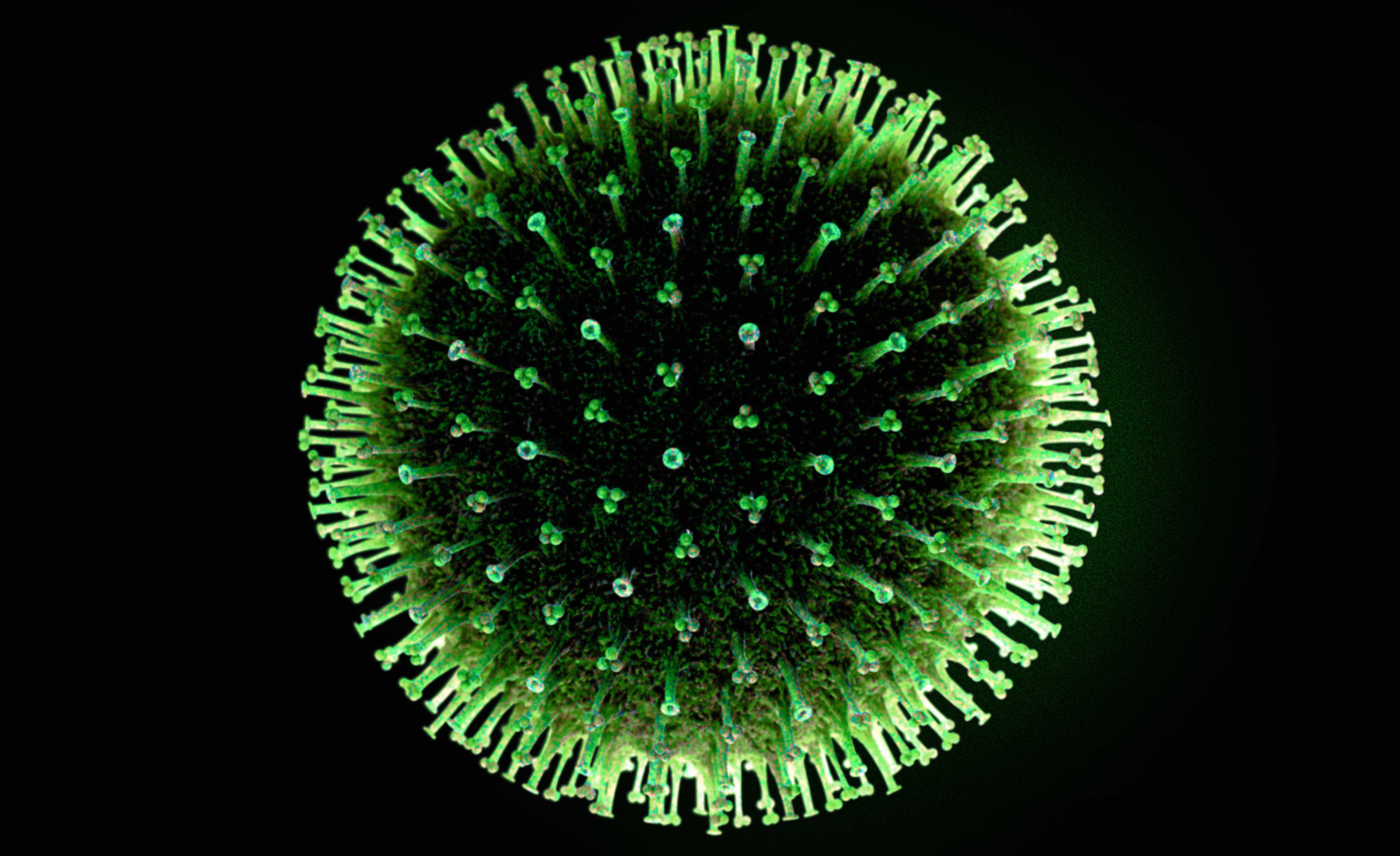 Think this flu virus looks nasty? The giant virus is 20,000 times bigger