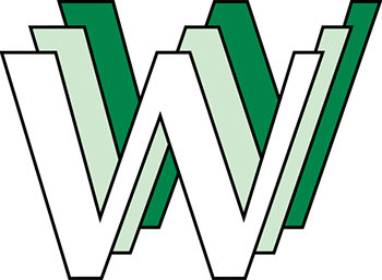 Robert Cailliau's early logo for the service originally known as the WorldWideWeb