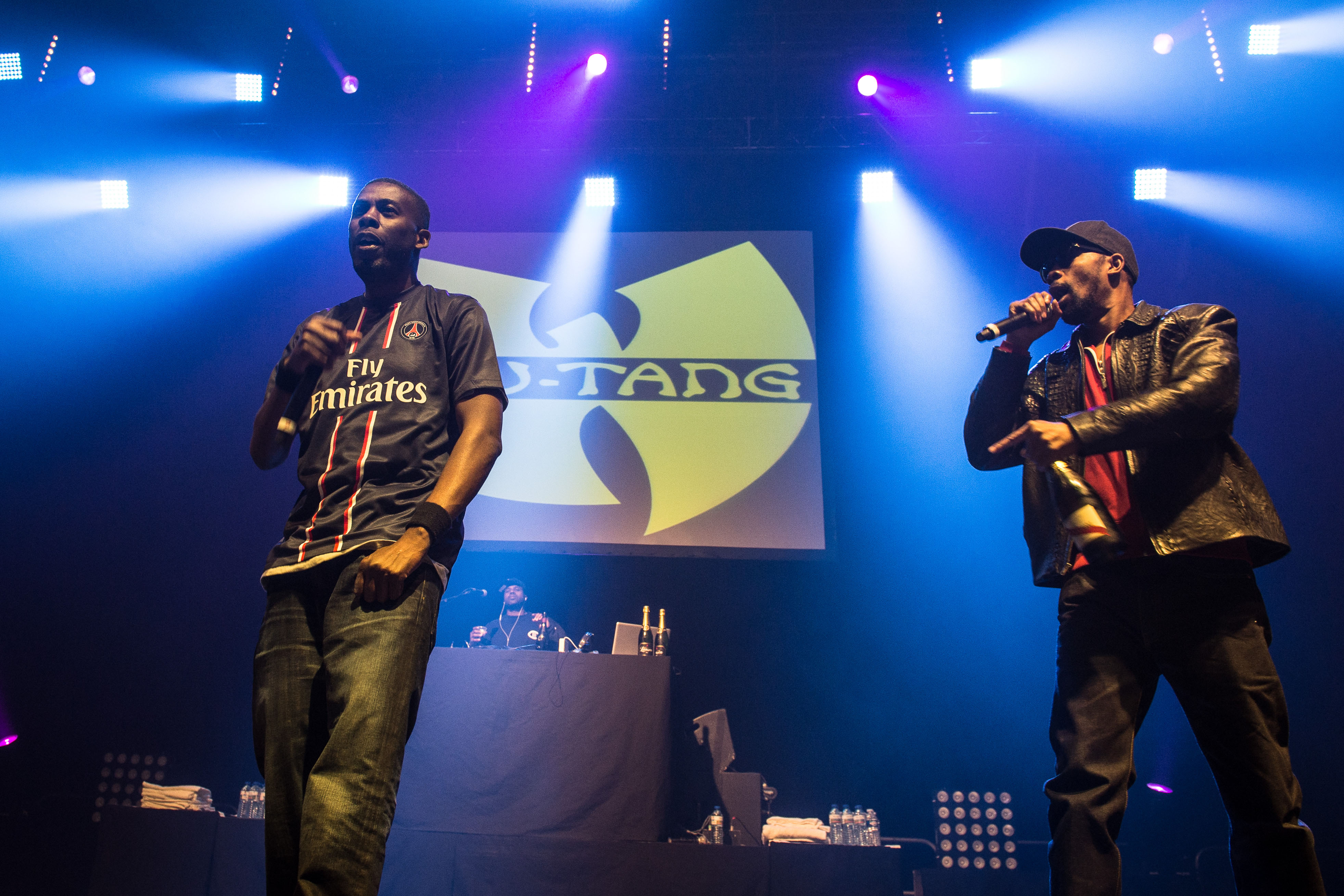 GZA and RZA of Wu-Tang Clan in 2013.