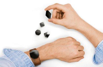 Yves Béhar LifeTiles bracelet