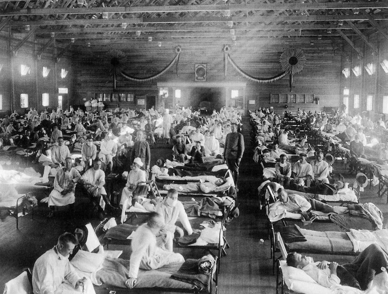 The 1918 flu pandemic killed an estimated 50 million people