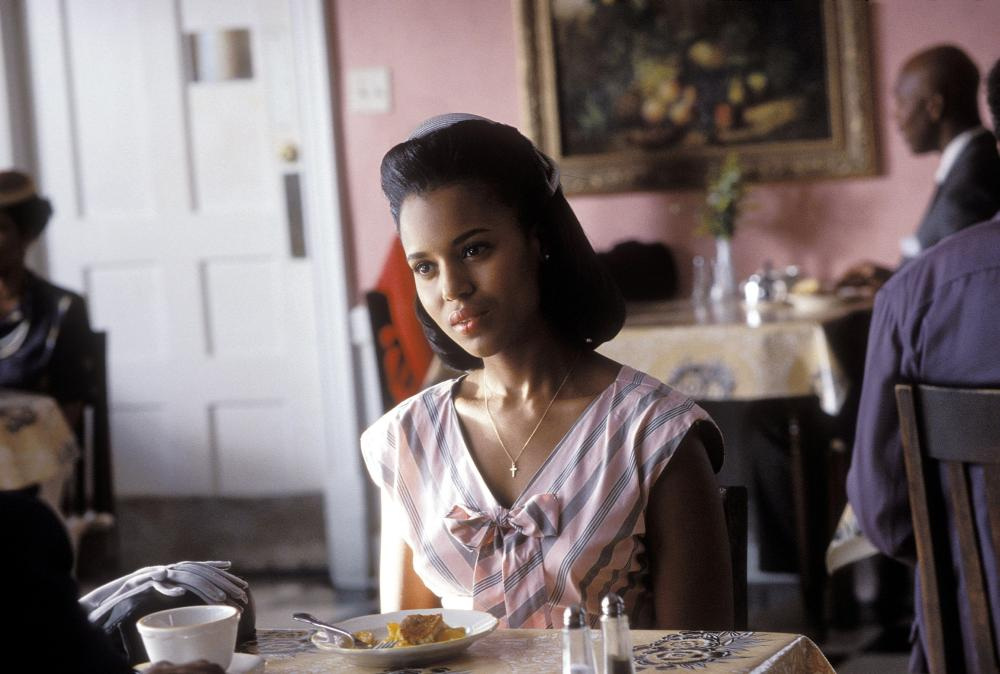 <b><i>Ray</i>, 2004:</b> Washington played Ray Charles' (Jamie Foxx) long-suffering second wife Della Bea Robinson in the Golden Globe-nominated film.