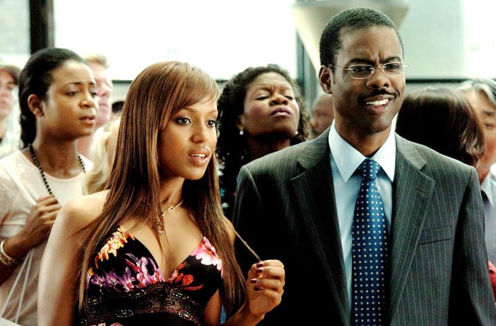 """<b><i>I Think I Love My Wife</i>, 2007:</b> Washington plays Nikki Tru, the """"other woman"""" who tries to seduce a married Richard Cooper (Chris Rock) away from his wife."""