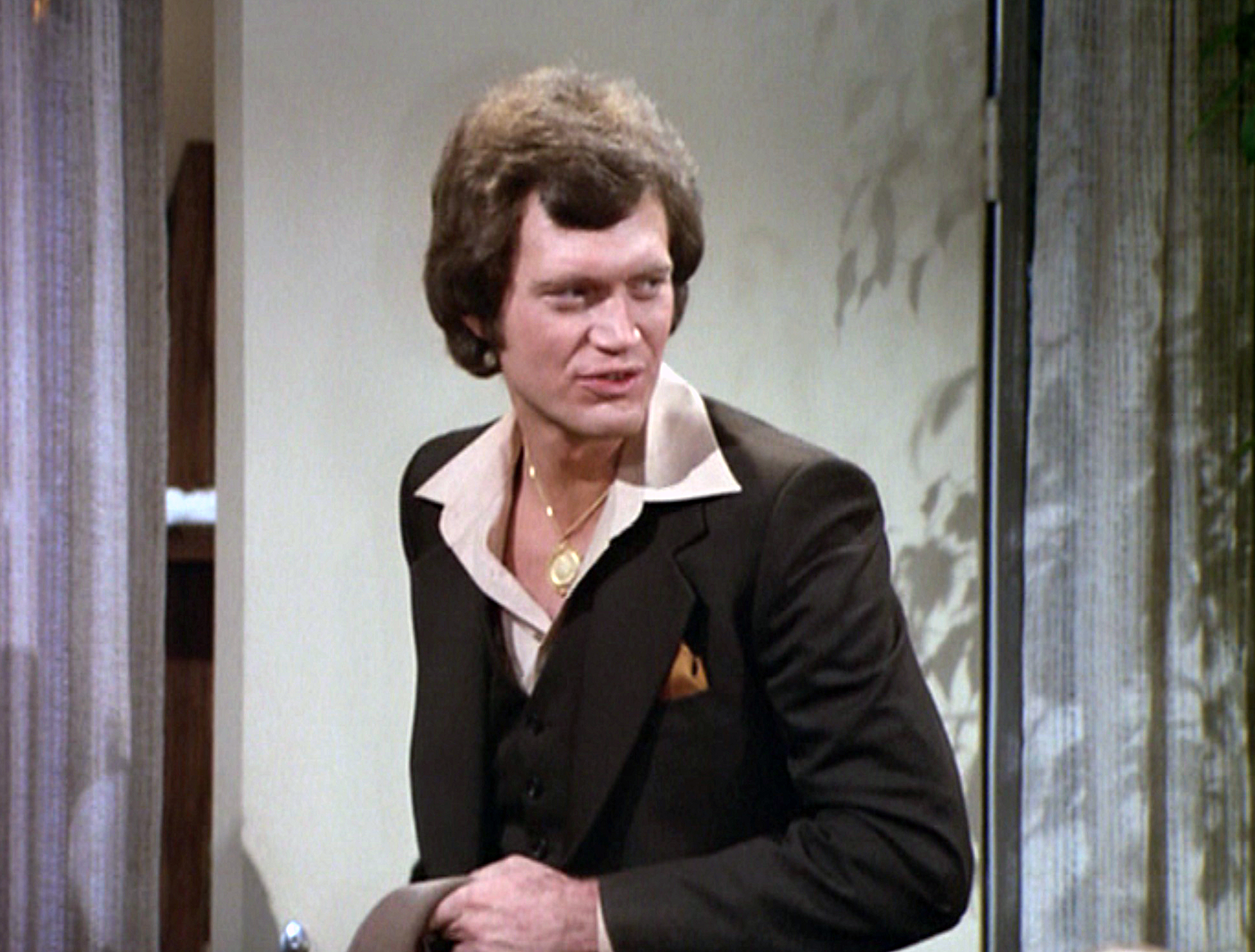 One of David Letterman's earliest roles before he made it as a television host was as a guest star on Mork & Mindy.