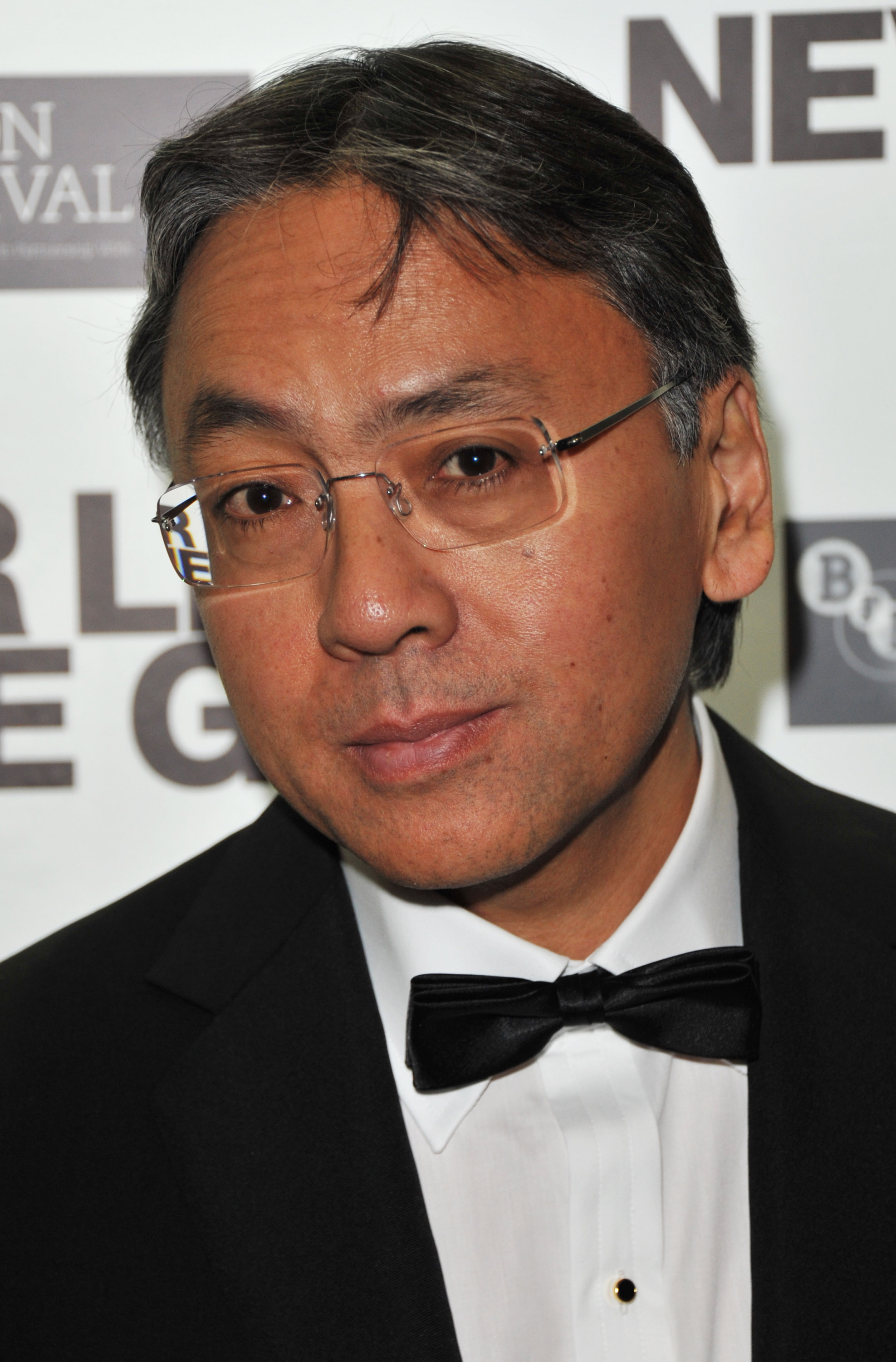 Kazuo Ishiguro attends the Never Let Me Go premiere during the 54th BFI London Film Festival after party at Saatchi Gallery on October 13, 2010 in London, England.