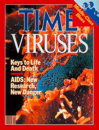 Nov 3, 1986                               It would be another year before the first antiviral drug against HIV, AZT, is developed, but scientists are learning more about the biology of the AIDS virus, and testing new treatments, including gene therapy.