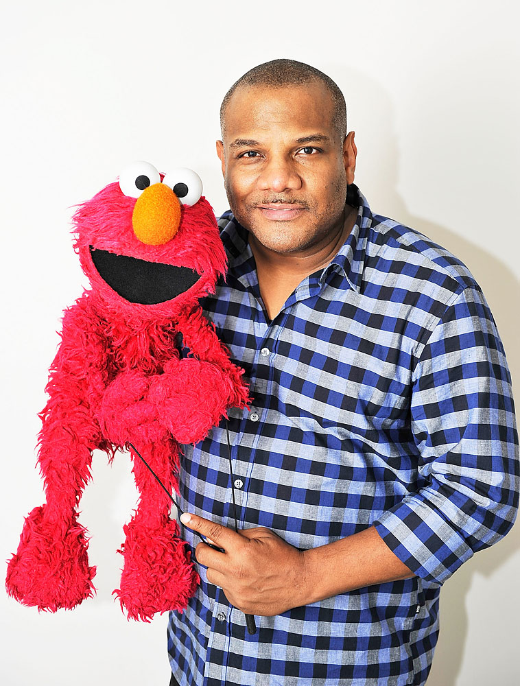 Puppeteer and creator of Elmo, Kevin Clash visits the Apple Store Upper West Side on Nov 20, 2011 in New York City.