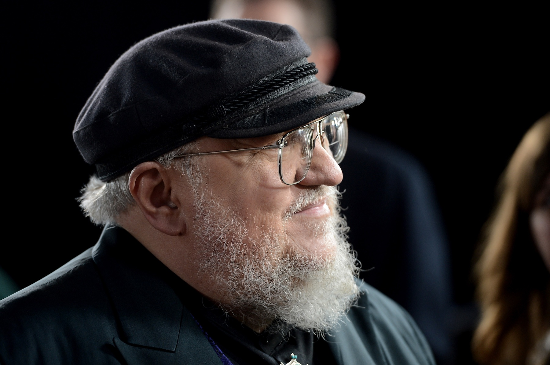 George R.R. Martin at the Season 3 premiere of HBO's  Game Of Thrones  on March 18, 2013 in Hollywood, Calif.