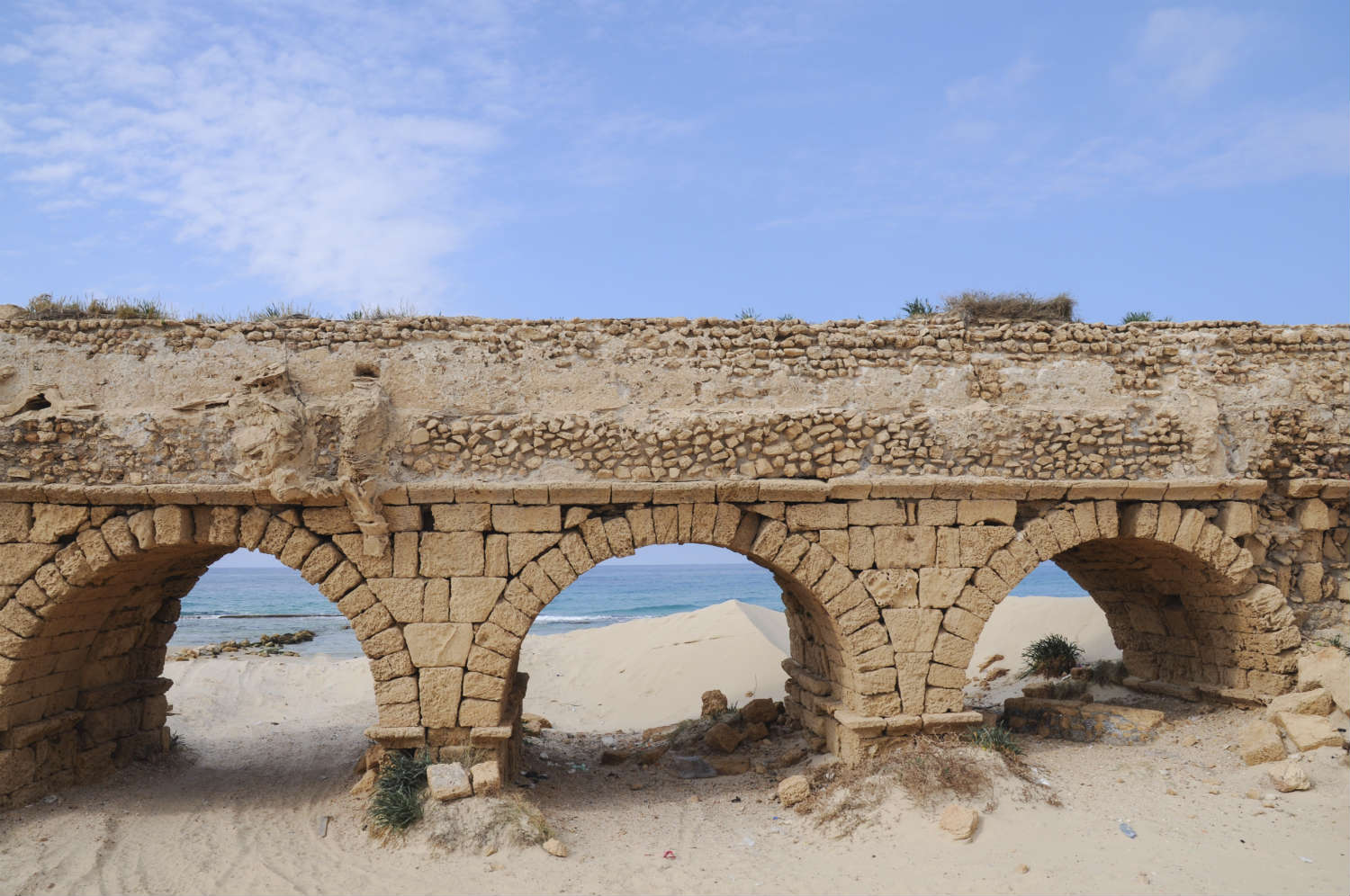 Aqueducts like this one contaminated Roman tap water with lead