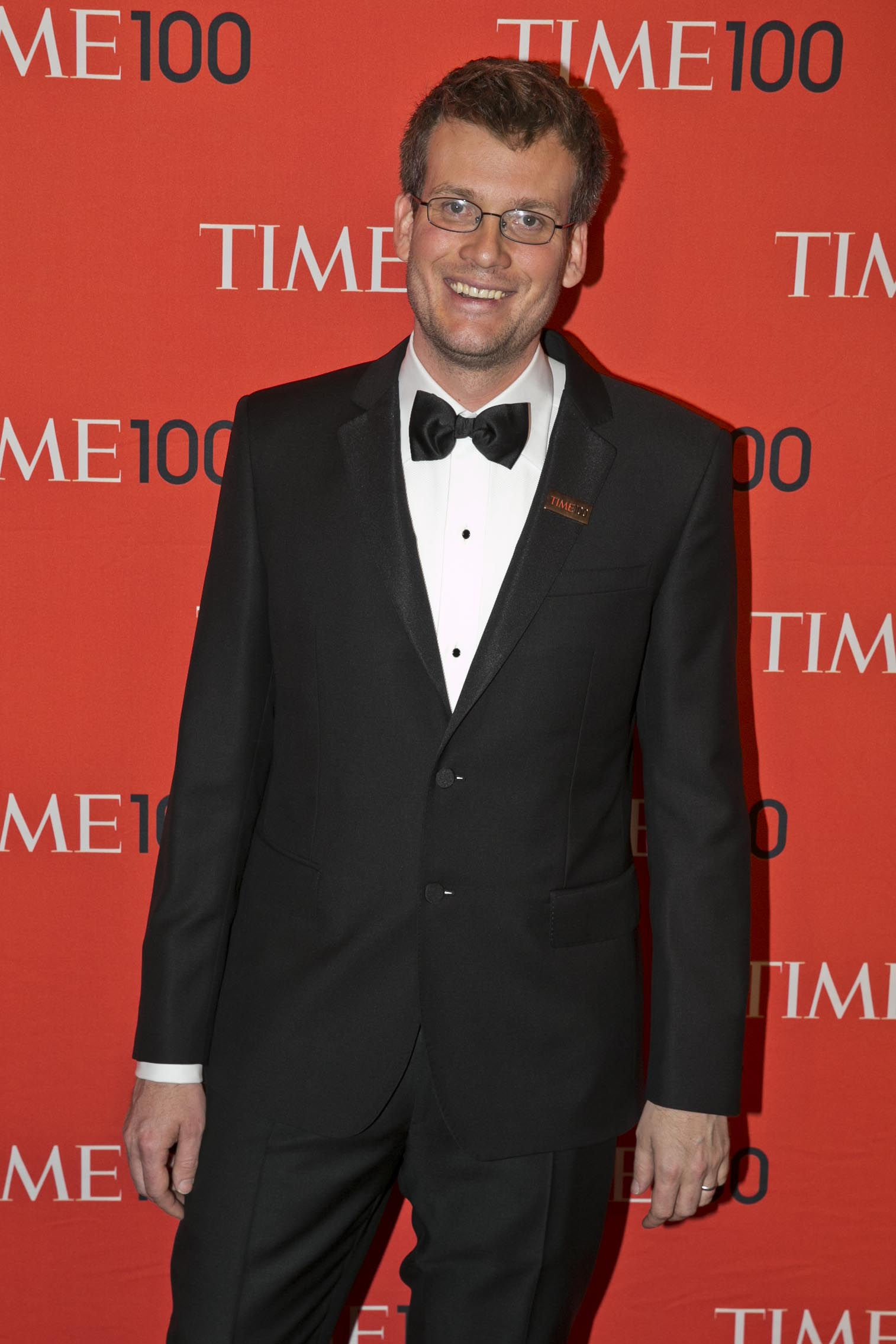Honoree John Green at the Time 100 Gala at Jazz at Lincoln Center in New York on April, 29, 2014.