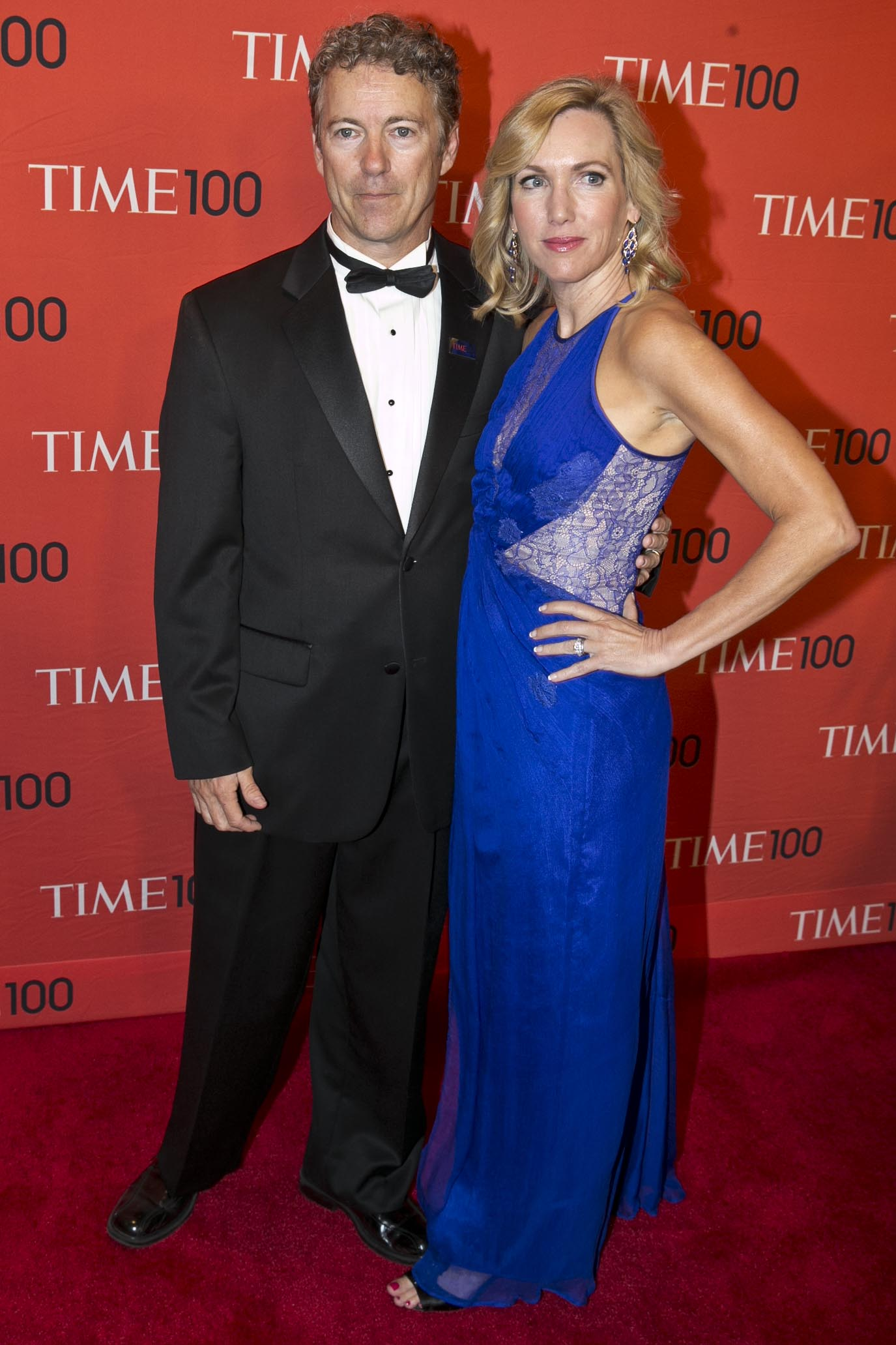 Rand Paul and Kelley Ashby at the Time 100 Gala at Jazz at Lincoln Center in New York City on April, 29, 2014