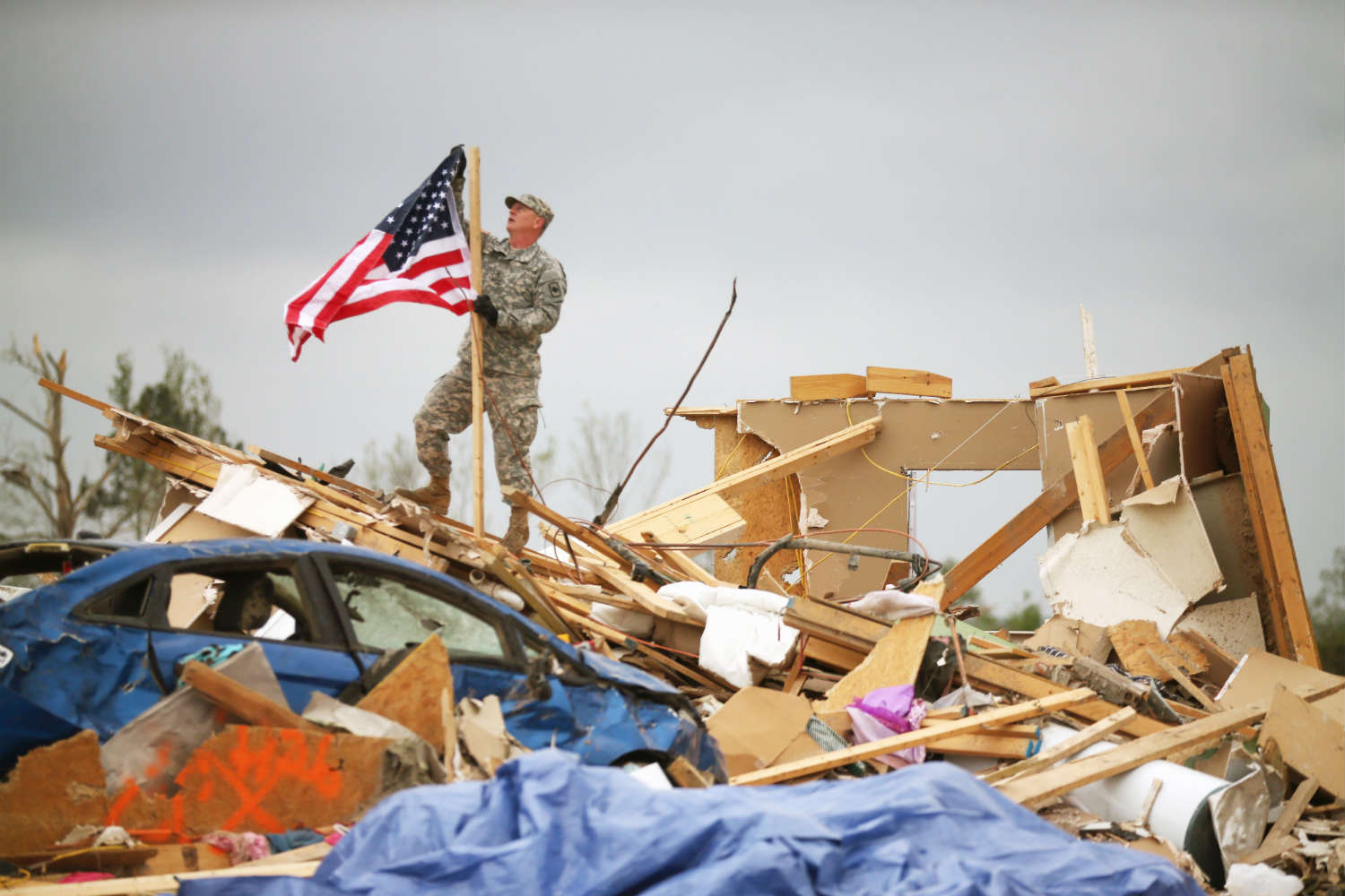 Deadly tornadoes devastated the town of Vilonia, Arkansas on Apr. 27