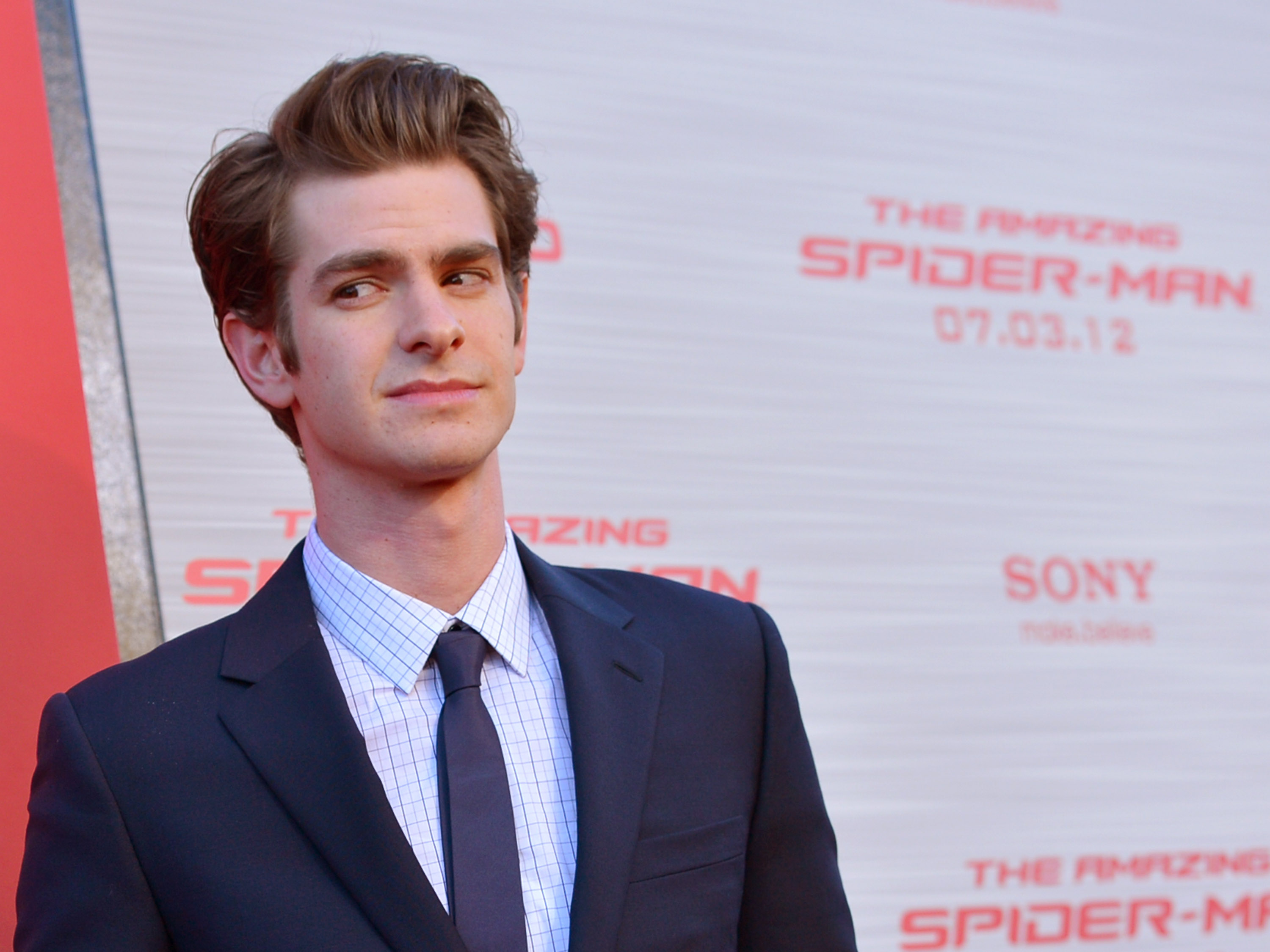 arrives at the premiere of Columbia Pictures'  The Amazing Spider-Man  at the Regency Village Theatre on June 28, 2012 in Westwood, California.