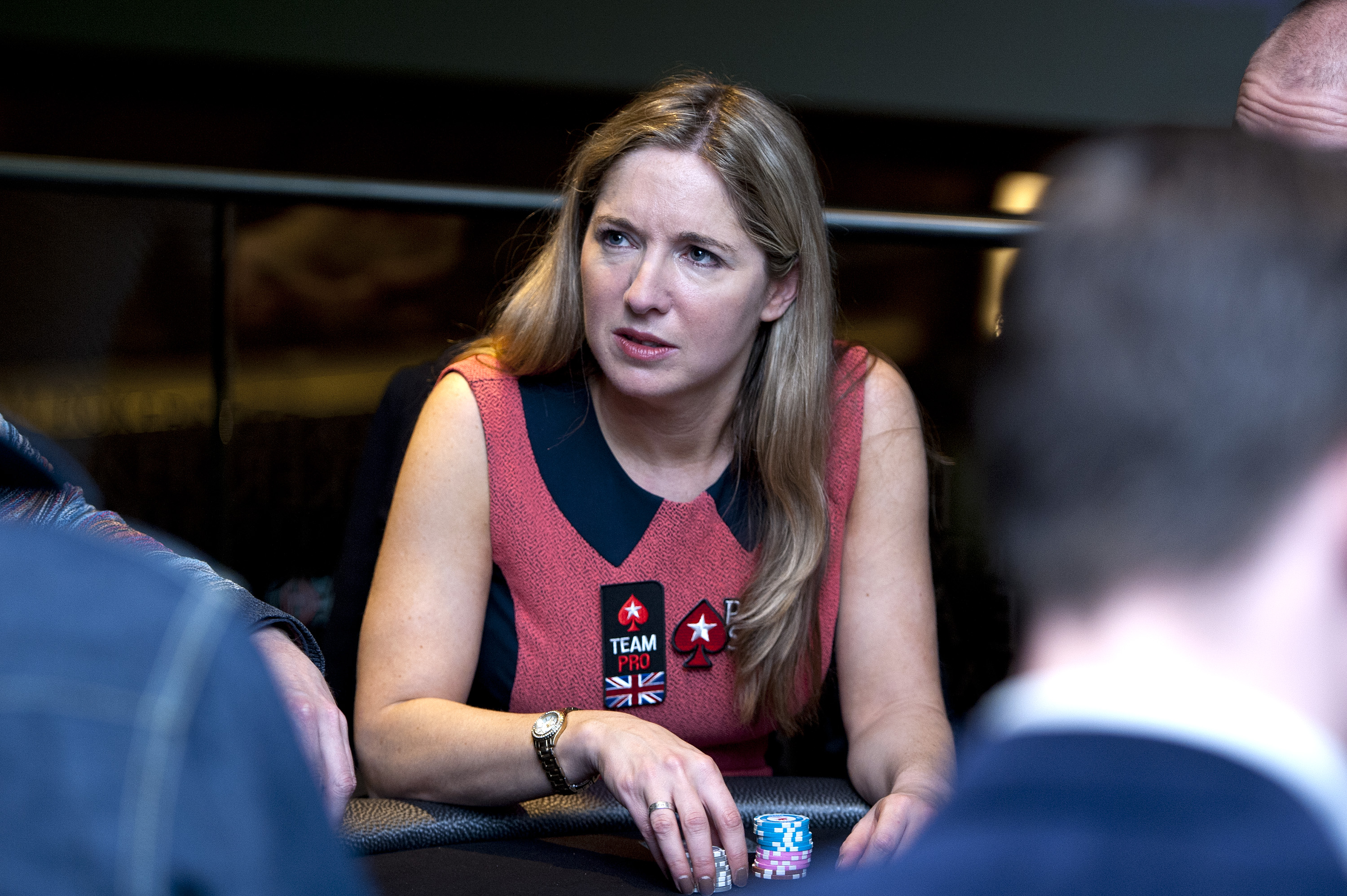 Victoria Coren Mitchell attends the launch of The PokerStars LIVE Lounge at The Hippodrome Casino London on March 4, 2013 in London, England