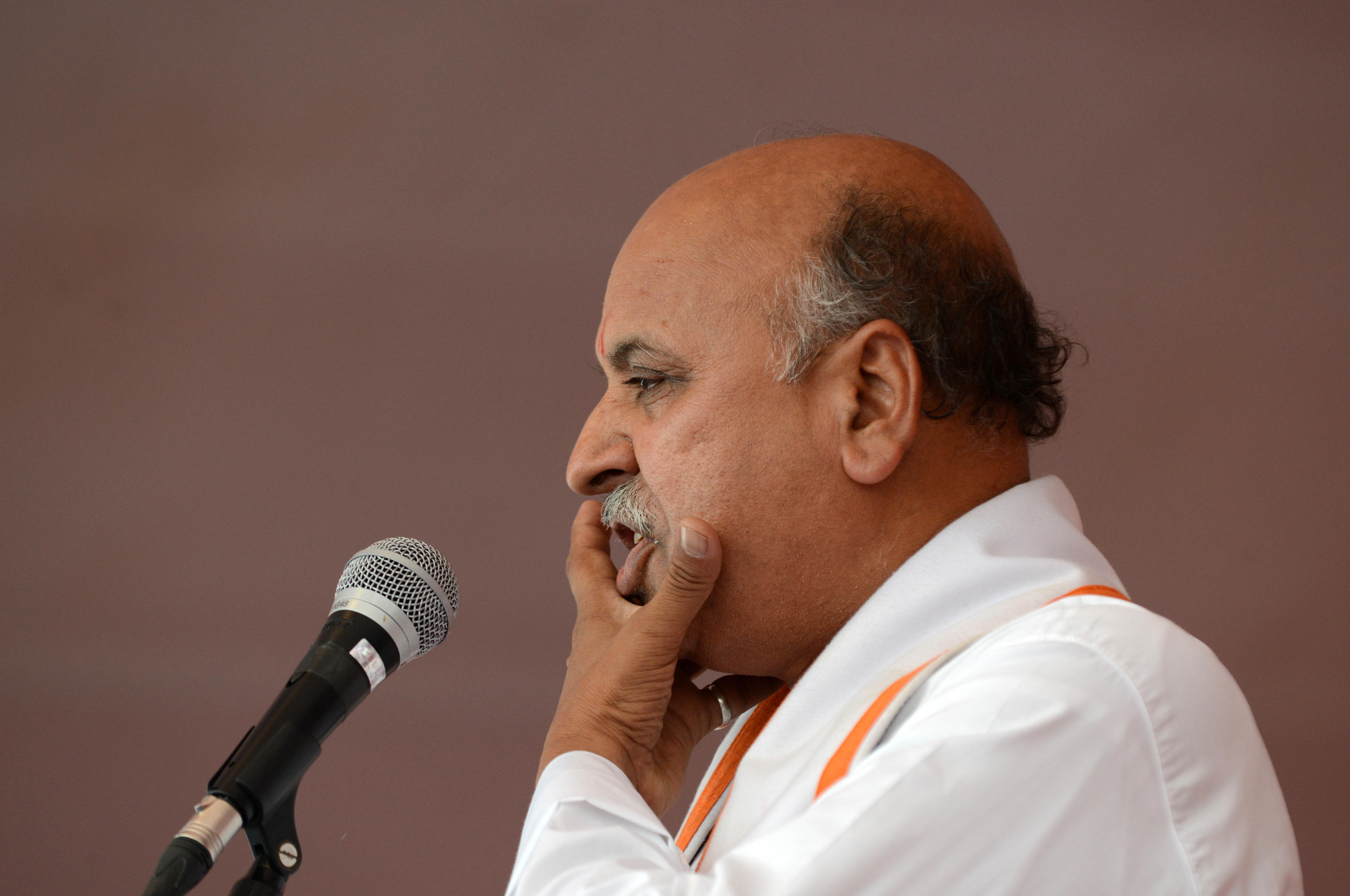 Vishva Hindu Parishad president Pravin Togadia