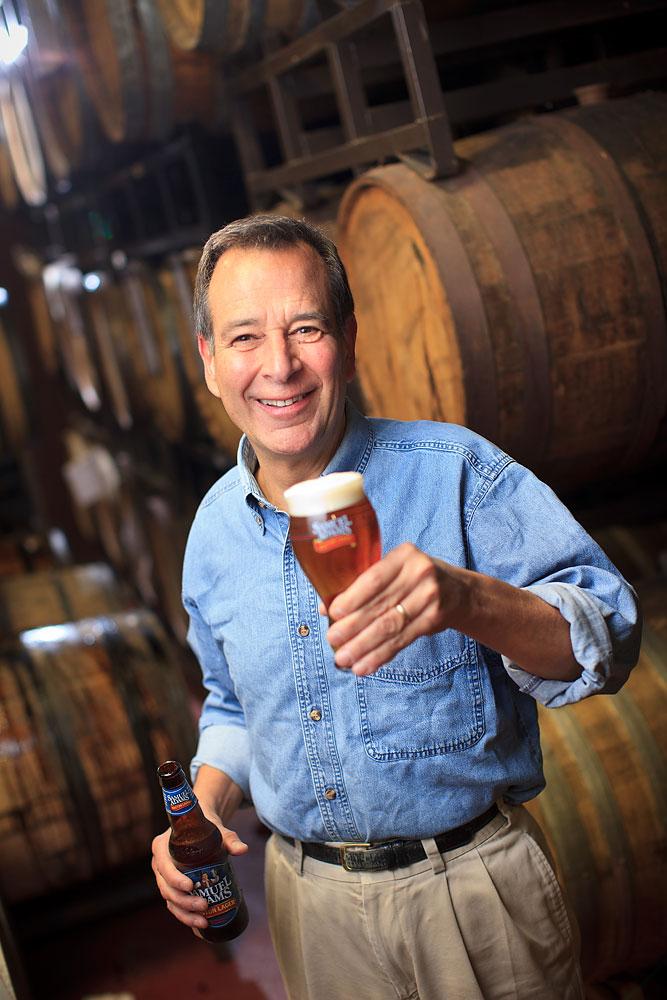 Jim Koch, founder of Boston Beer Co., which makes Samuel Adams beers.