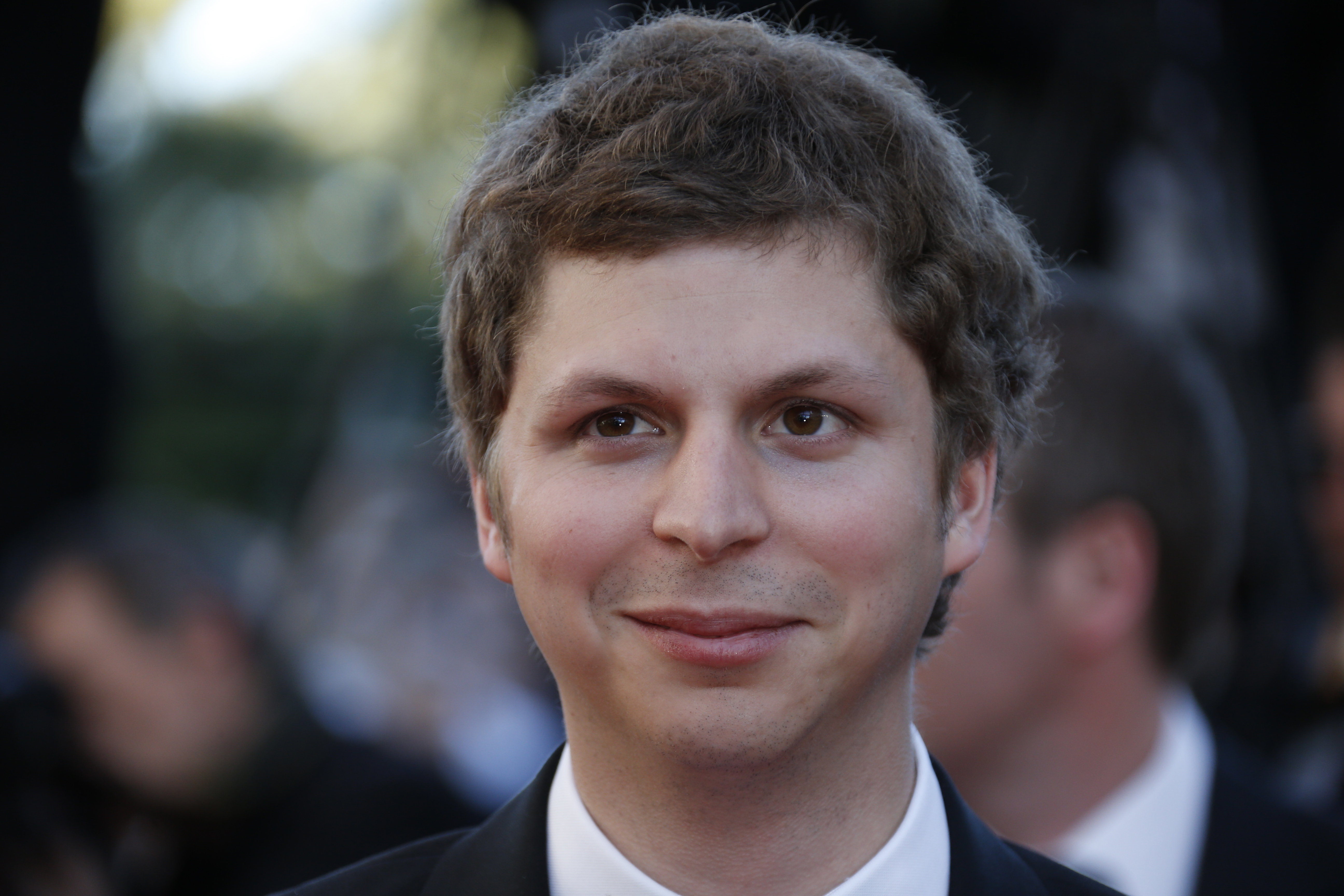 Canadian actor Michael Cera poses on May 24, 2013 as he arrives for the screening of the film  The Immigrant  presented in Competition at the 66th edition of the Cannes Film Festival in Cannes. Cannes, one of the world's top film festivals, opened on May 15 and will climax on May 26 with awards selected by a jury headed this year by Hollywood legend Steven Spielberg.      AFP PHOTO / VALERY HACHE        (Photo credit should read VALERY HACHE/AFP/Getty Images)