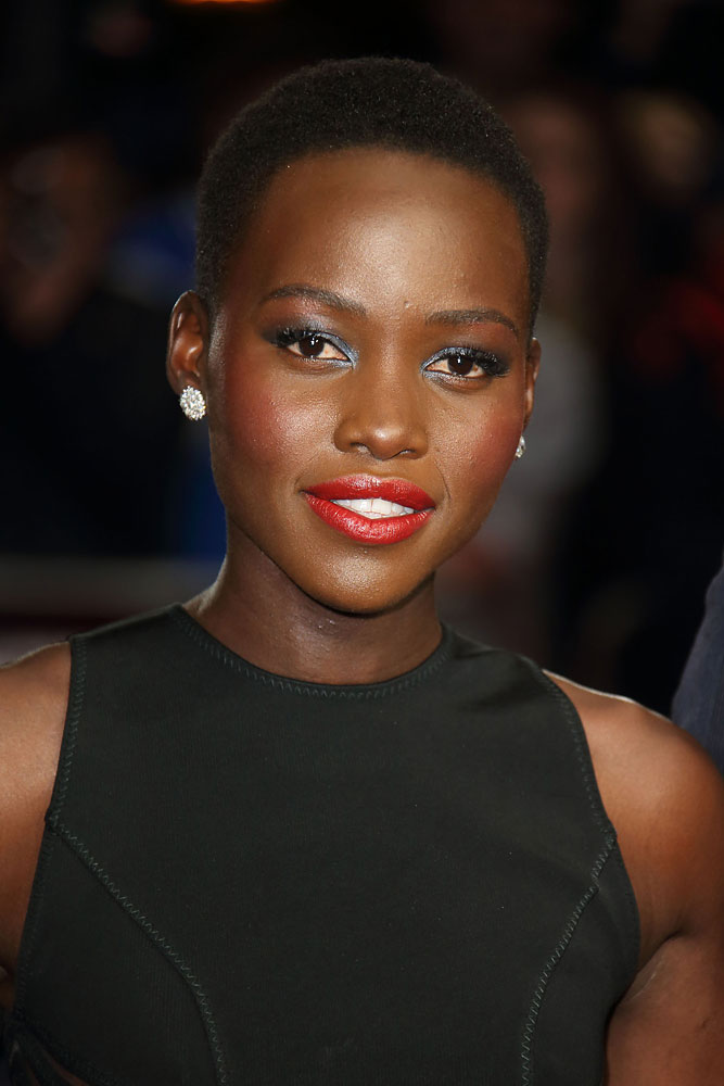 Lupita Nyong'o attends the European Premiere of  Twelve Years A Slave  during the 57th BFI London Film Festival at Odeon Leicester Square on October 18, 2013 in London,