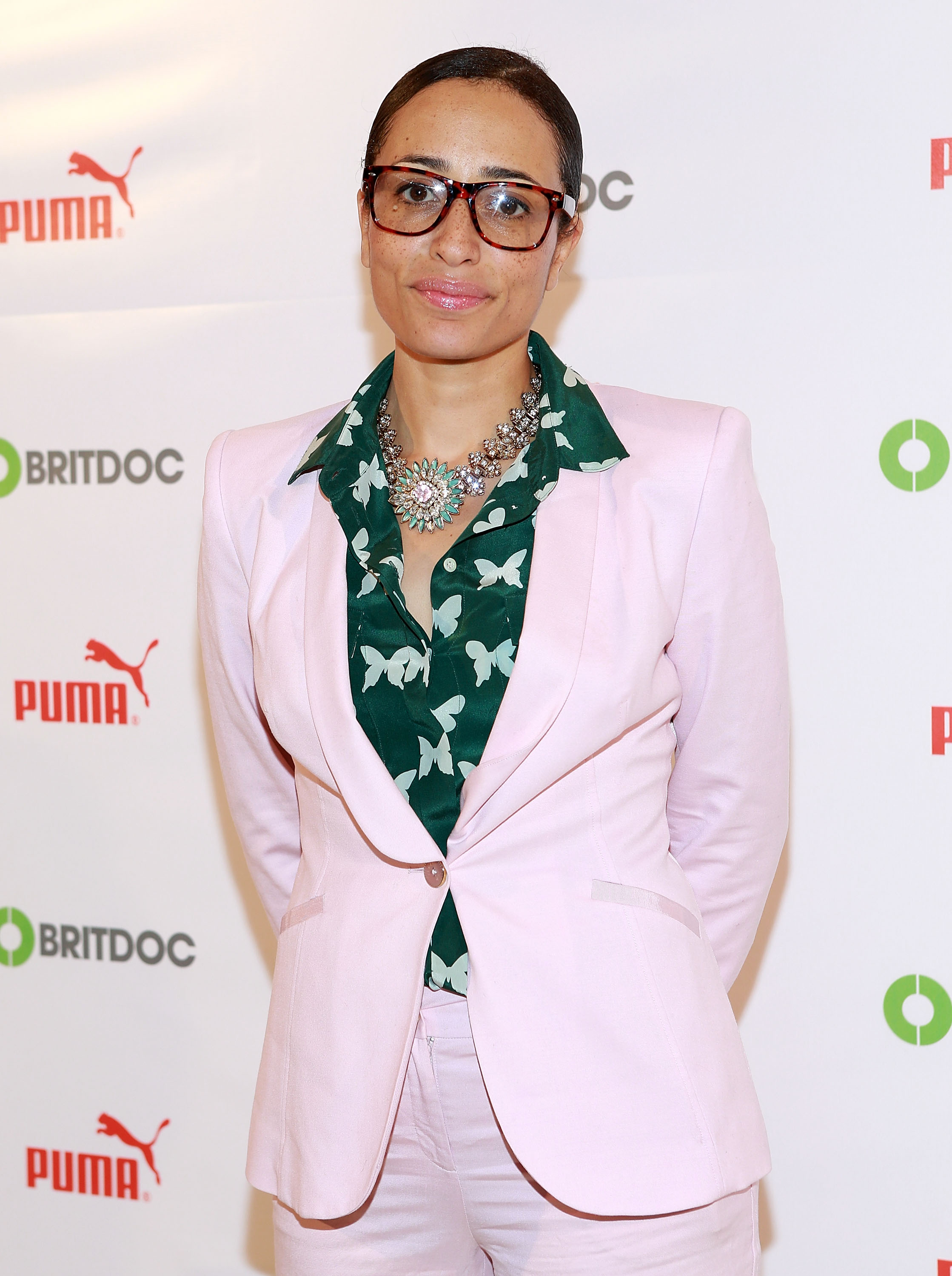 Zadie Smith at Times Center on November 13, 2013 in New York City.