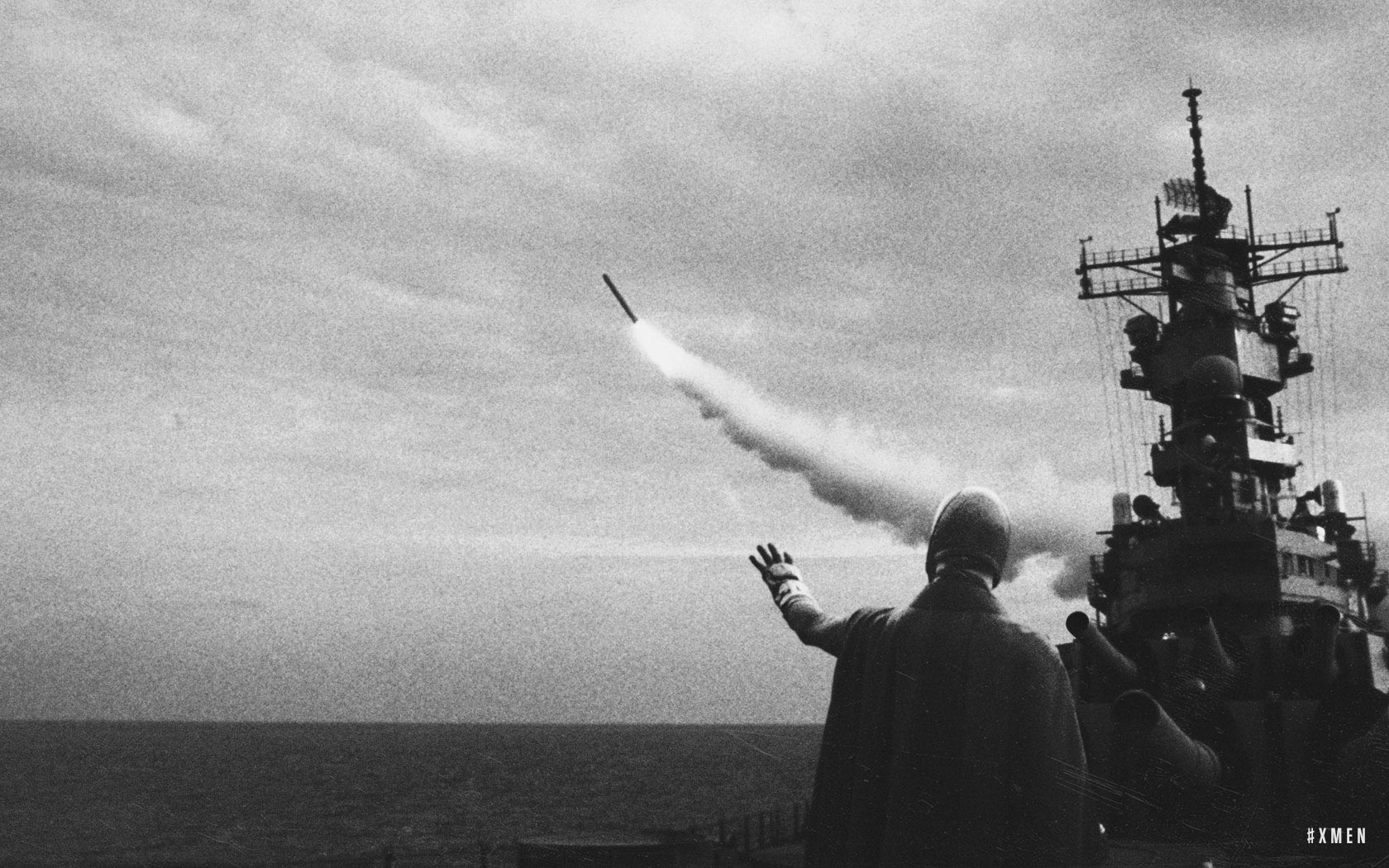 During a pivotal moment in the Cold War, missiles launched near Cuba allegedly malfunction due to an unidentified group with unexplained powers.