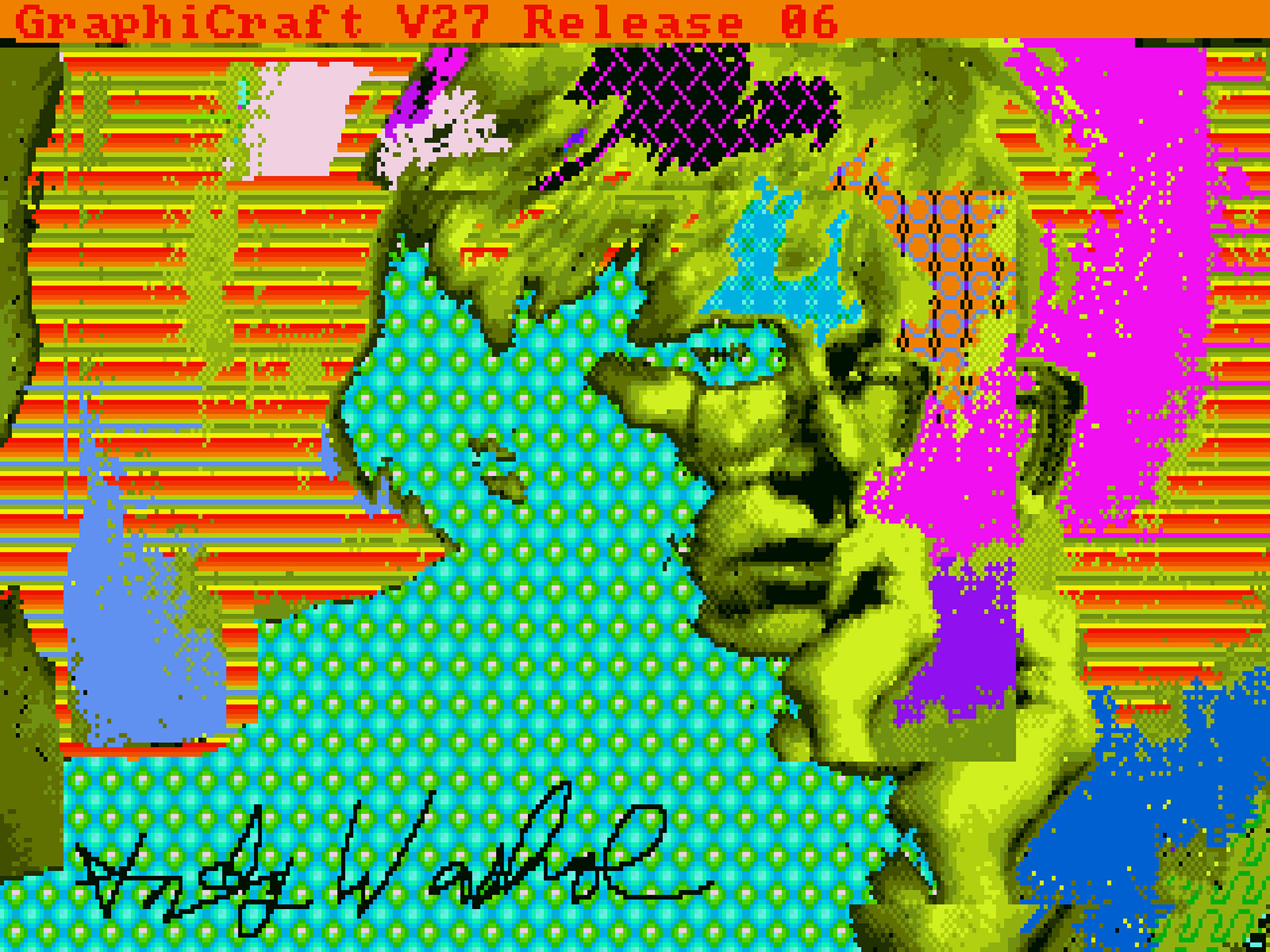 Andy Warhol, Andy 2, 1985