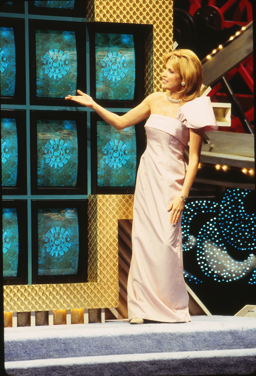 Vanna White on 'Wheel of Fortune' in 2000