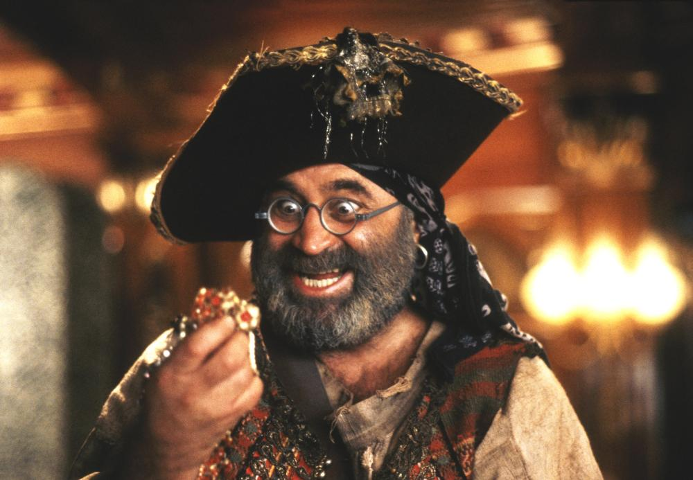 Hook                               Further cementing Hoskins' indelible mark in the childhoods of millennials was his role as Captain Hook's henchman, Mr. Smee.