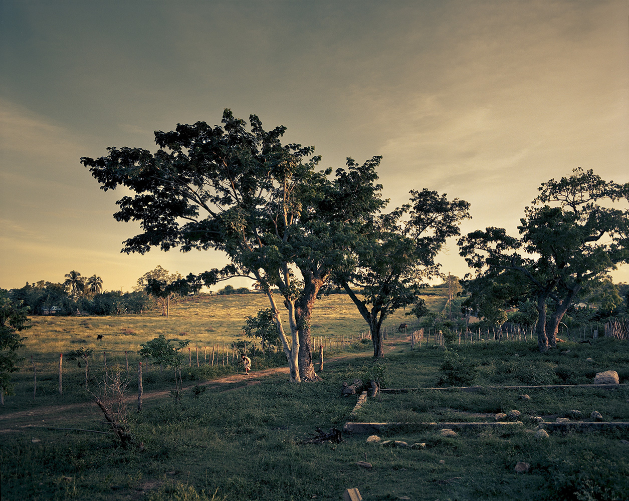Landscape in El Brujo, Santiago de Cuba Province.
