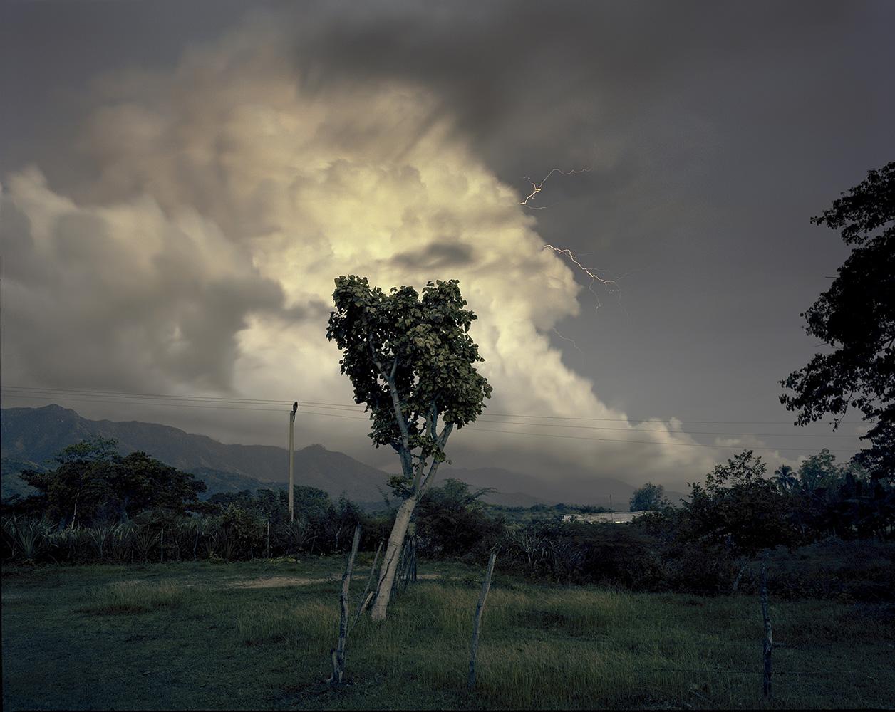 The landscape in El Brujo, Santiago de Cuba Province.
