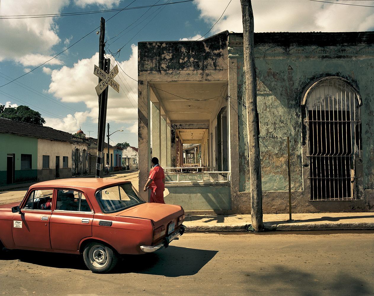 The town of Siboney, on the southern coast of Santiago de Cuba Province.