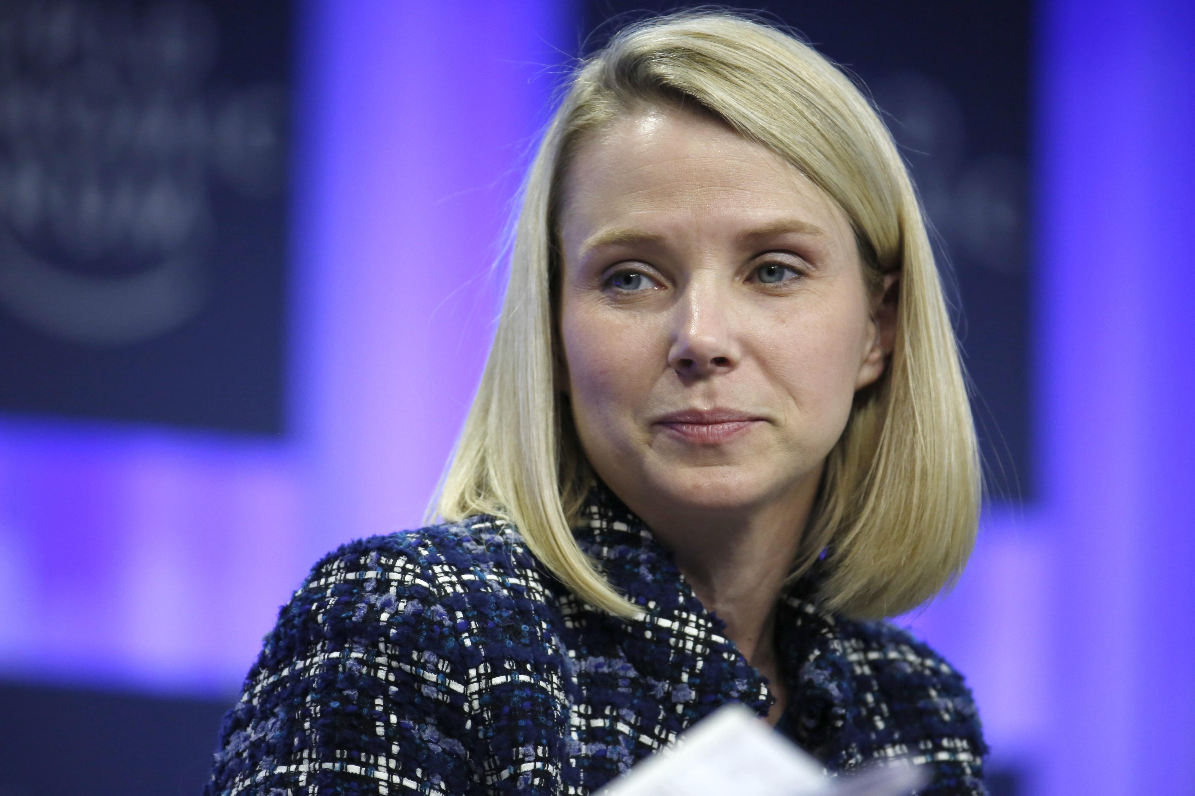 Marissa Mayer, CEO of Yahoo!