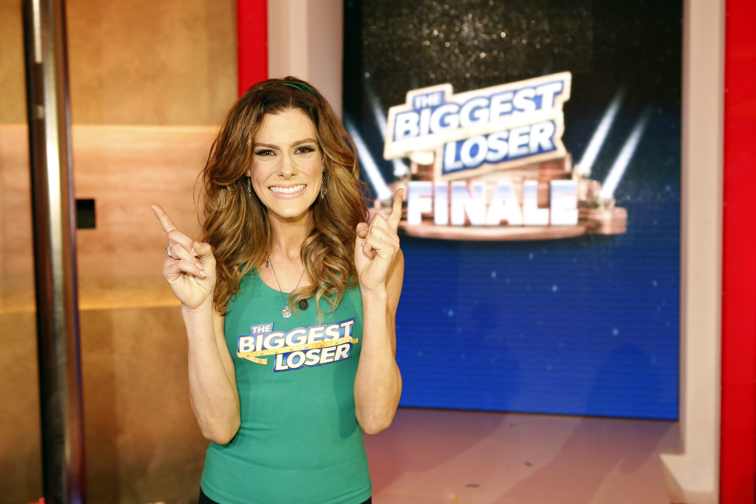 Rachel Frederickson on The Biggest Loser finale on Feb. 4th at 105 pounds