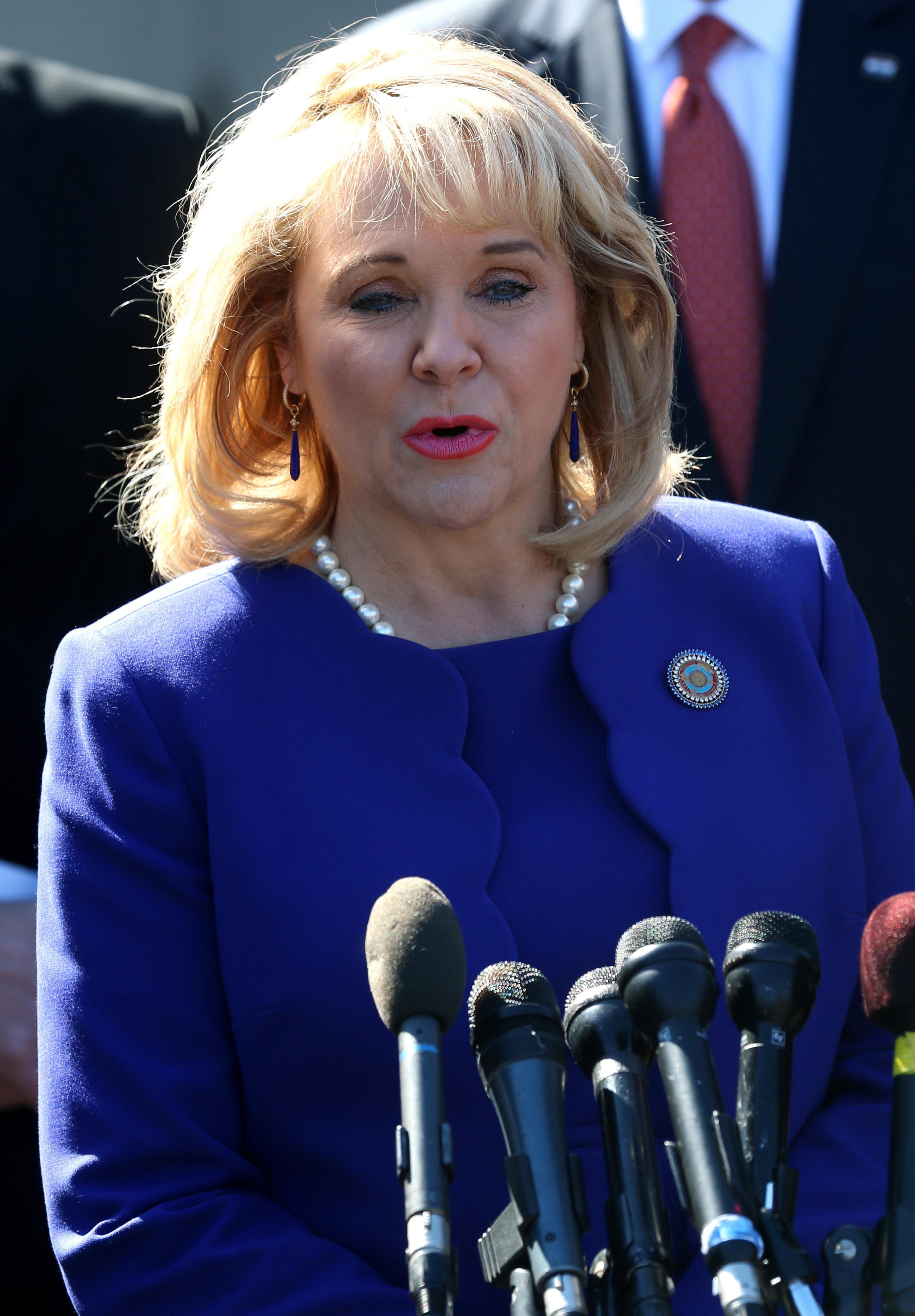 Gov. Mary Fallin on February 24, 2014 in Washington, DC.
