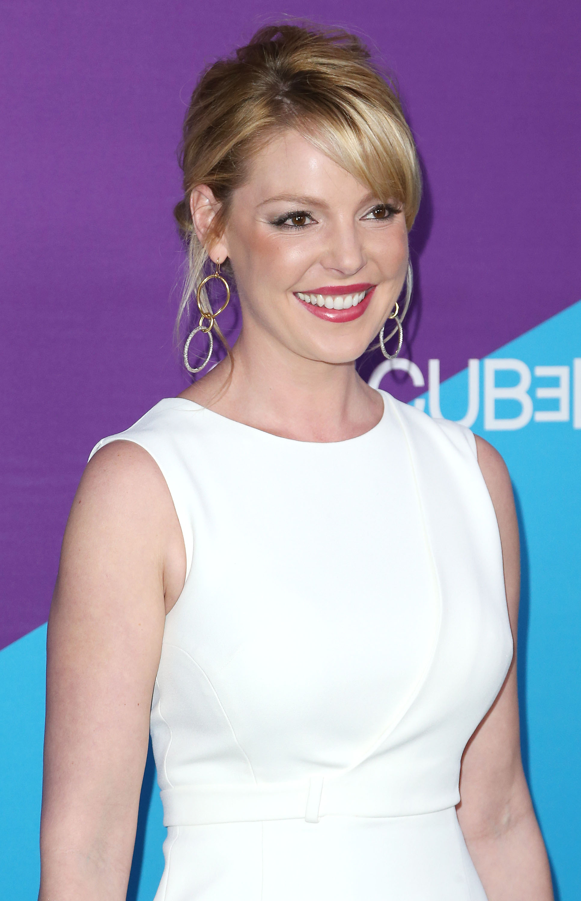 Katherine Heigl at Sony Pictures Studios on Feb. 27, 2014 in Culver City, California.