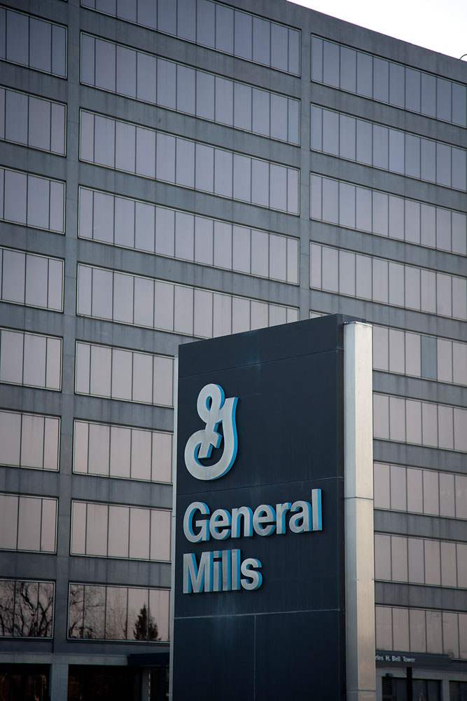 General Mills world headquarters in Golden Valley, MN, March 15, 2014.