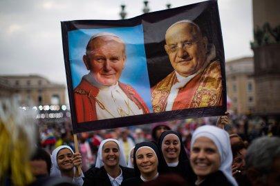 Vatican Popes Saints
