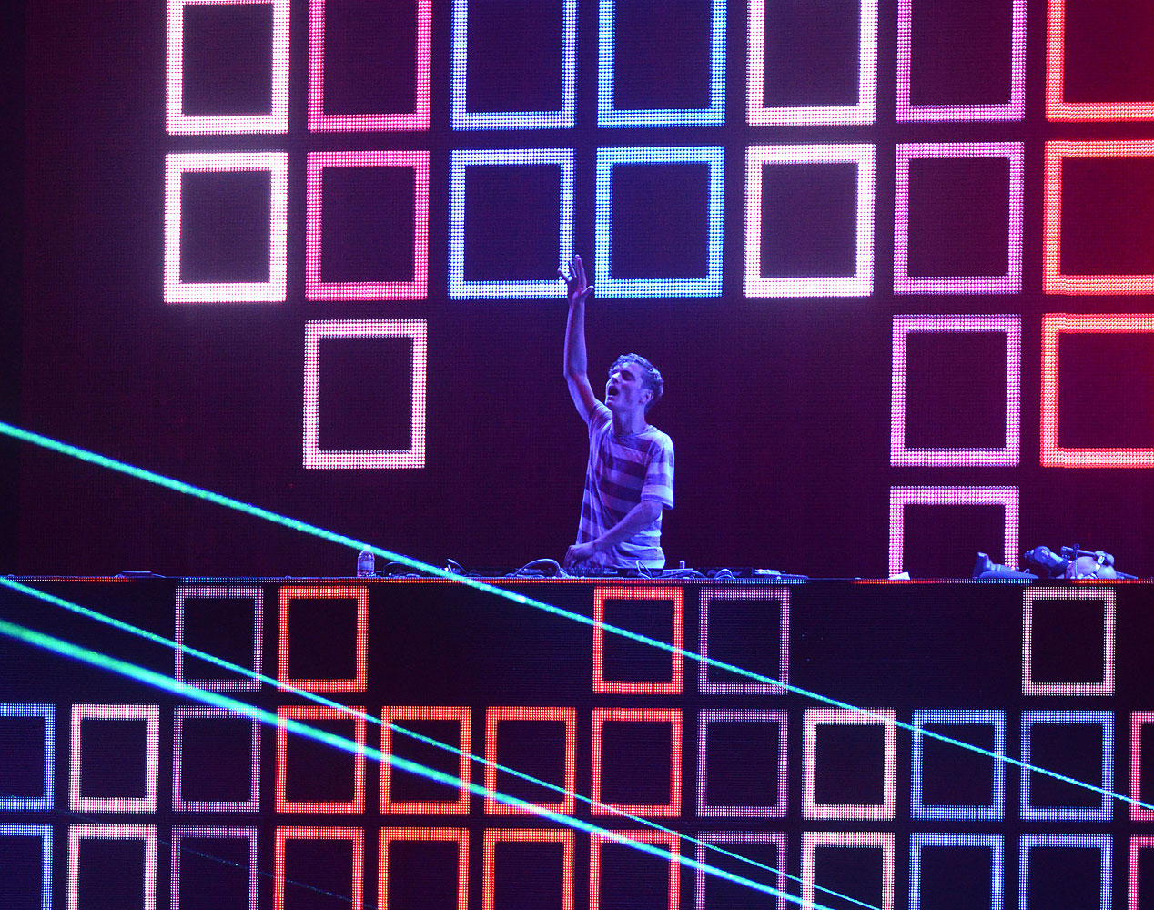 Martin Garrix performs during the 2014 Coachella Valley Music And Arts Festival at The Empire Polo Club on April 18, 2014 in Indio, Calif.