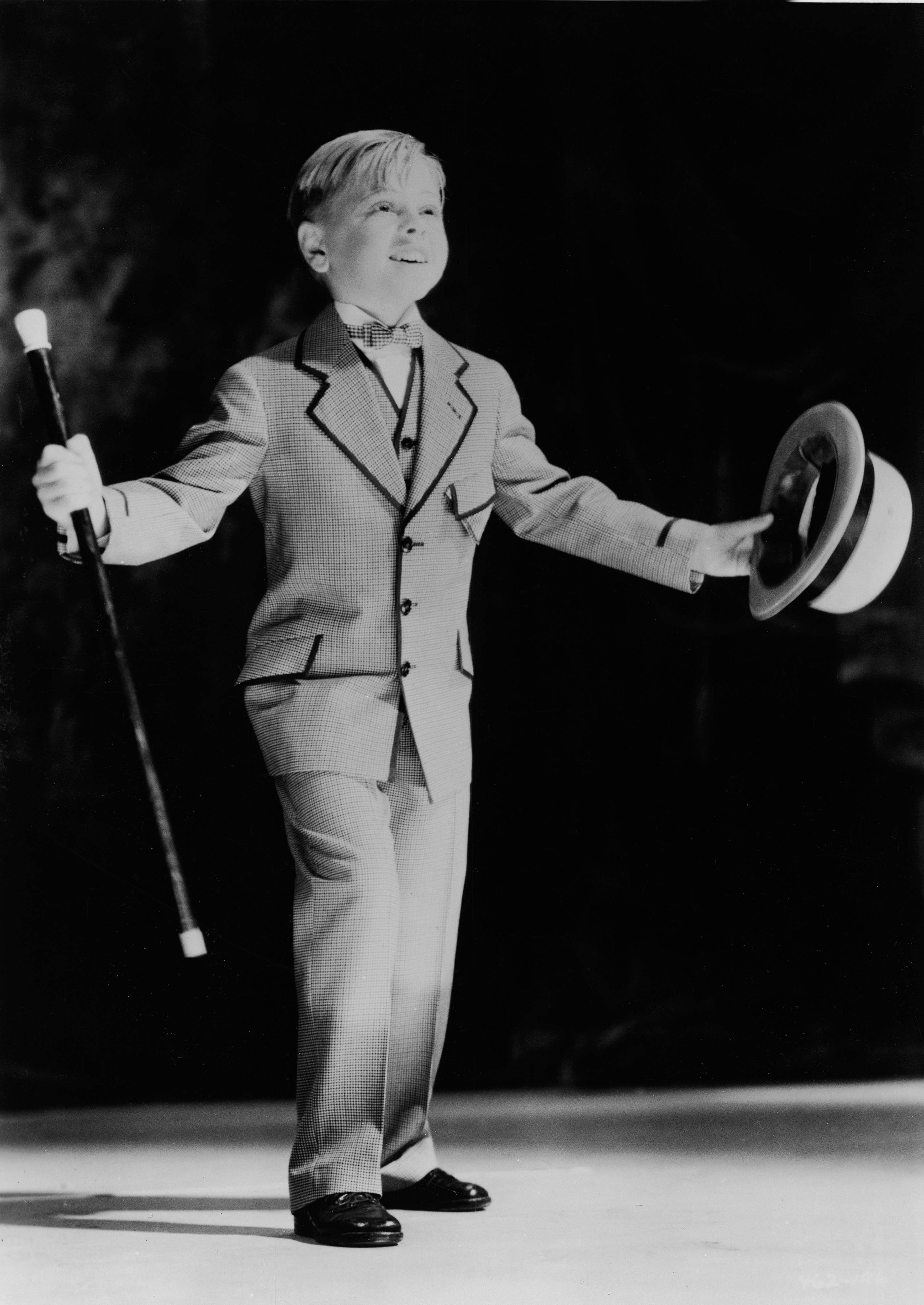 Rooney plays Ted Hackett III in the film <i>From Broadway to Hollywood</i>, directed by Willard Mack, in 1933.