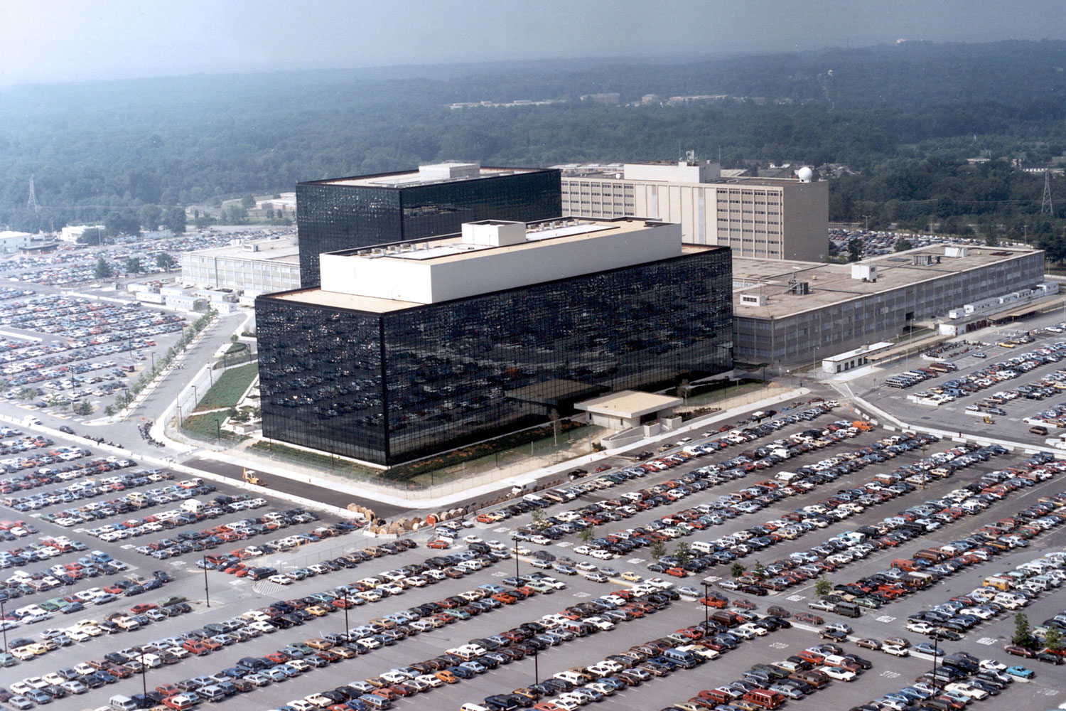National Security Agency headquarters in Fort Meade, Md.