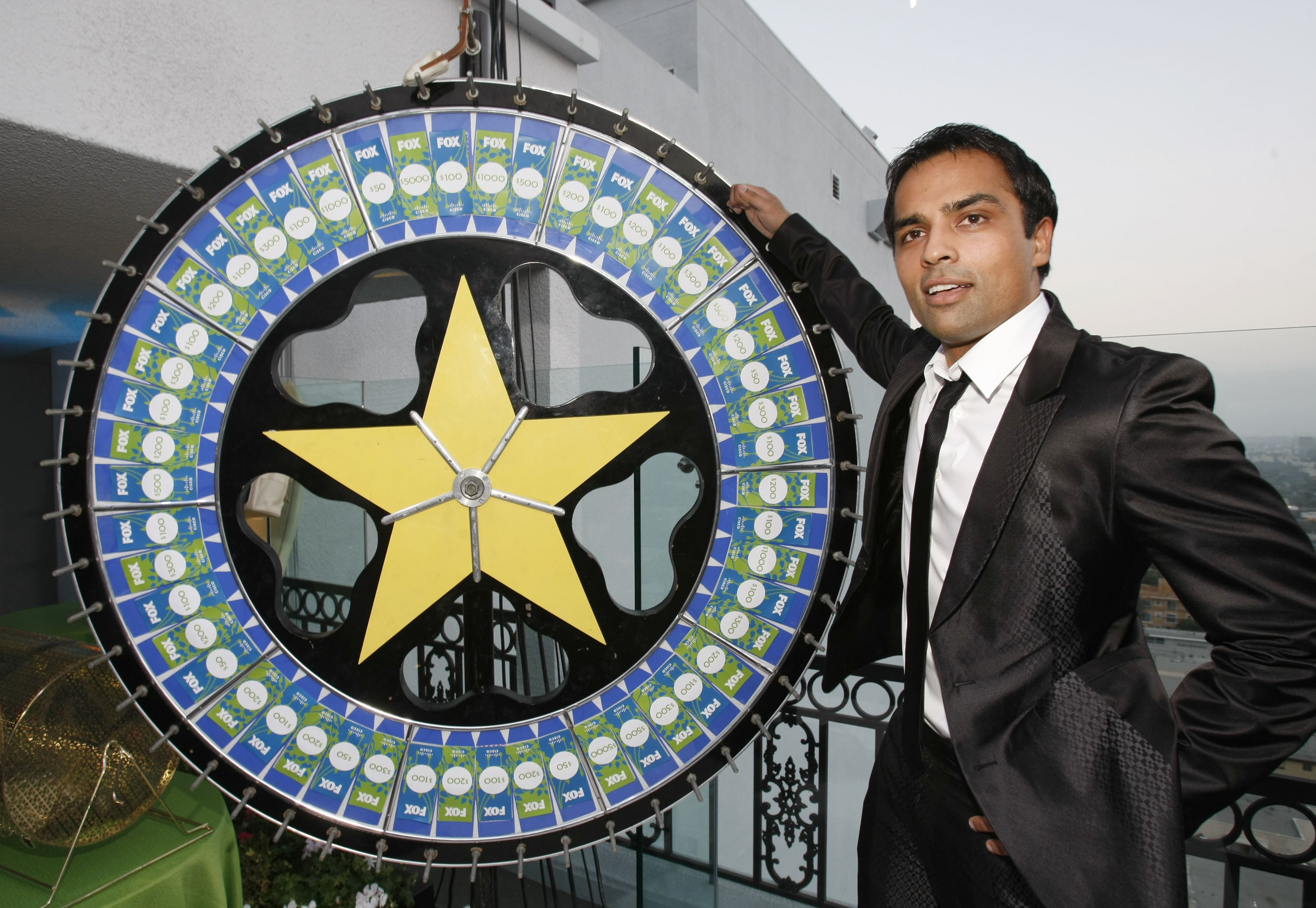 Gurbaksh Chahal attends the Fox Fall Eco-Casino party at The London West Hollywood hotel on September 8, 2008 in West Hollywood, California.