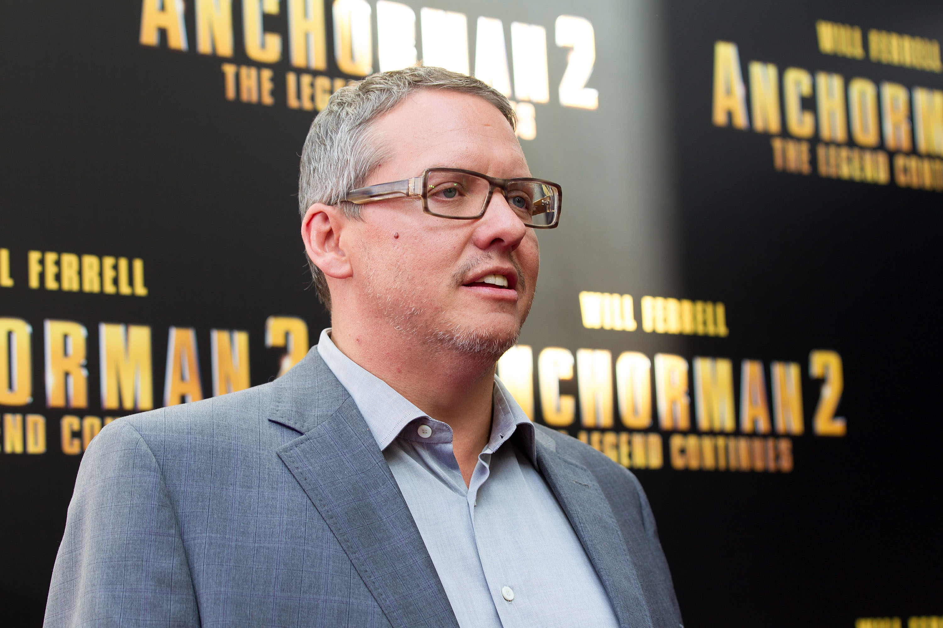 Adam McKay at the  Anchorman 2  Australian premiere on November 24, 2013.
